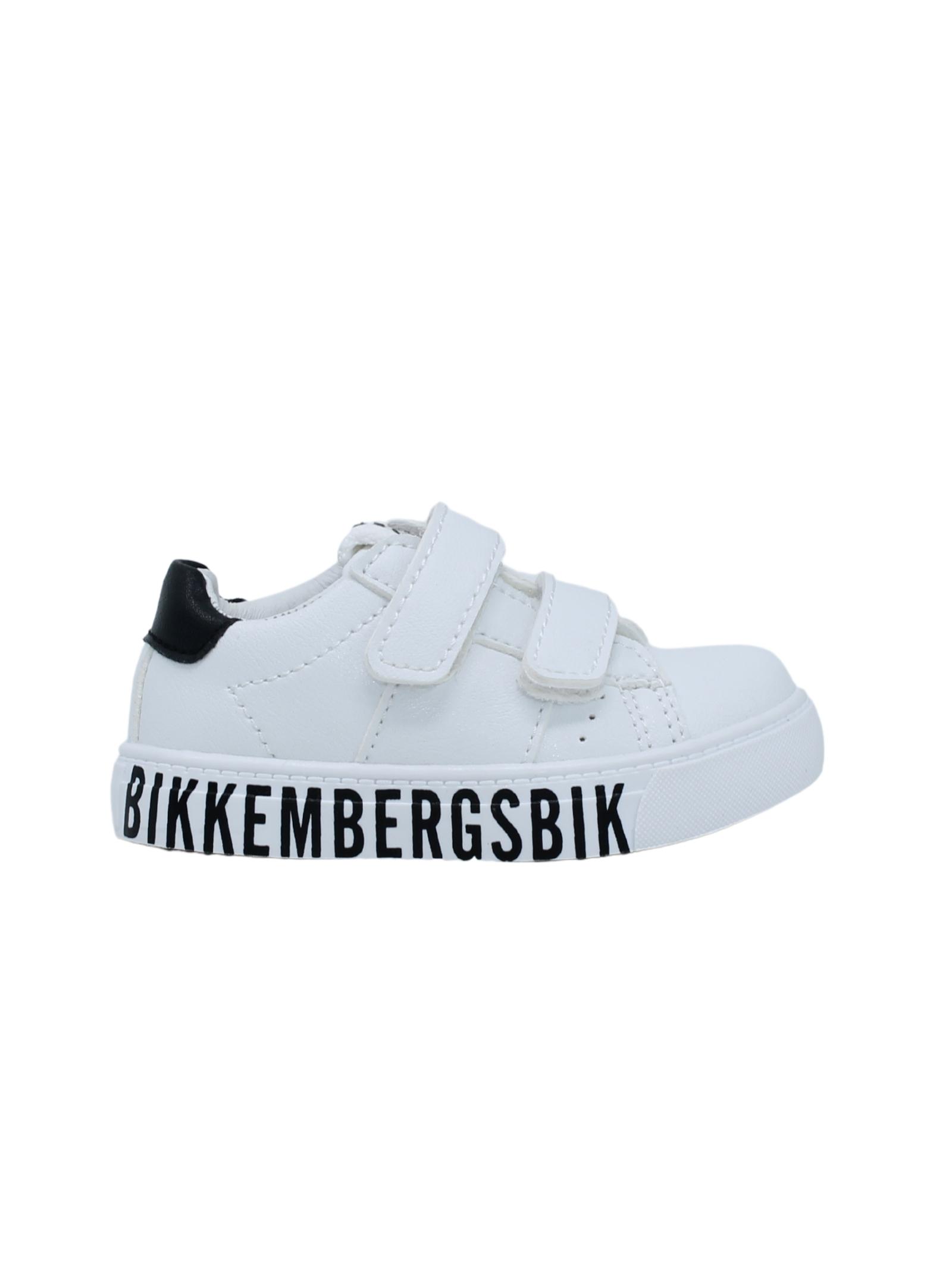 BIKKEMBERGS KIDS   Sneakers   K1B4205100193X002BIANCO