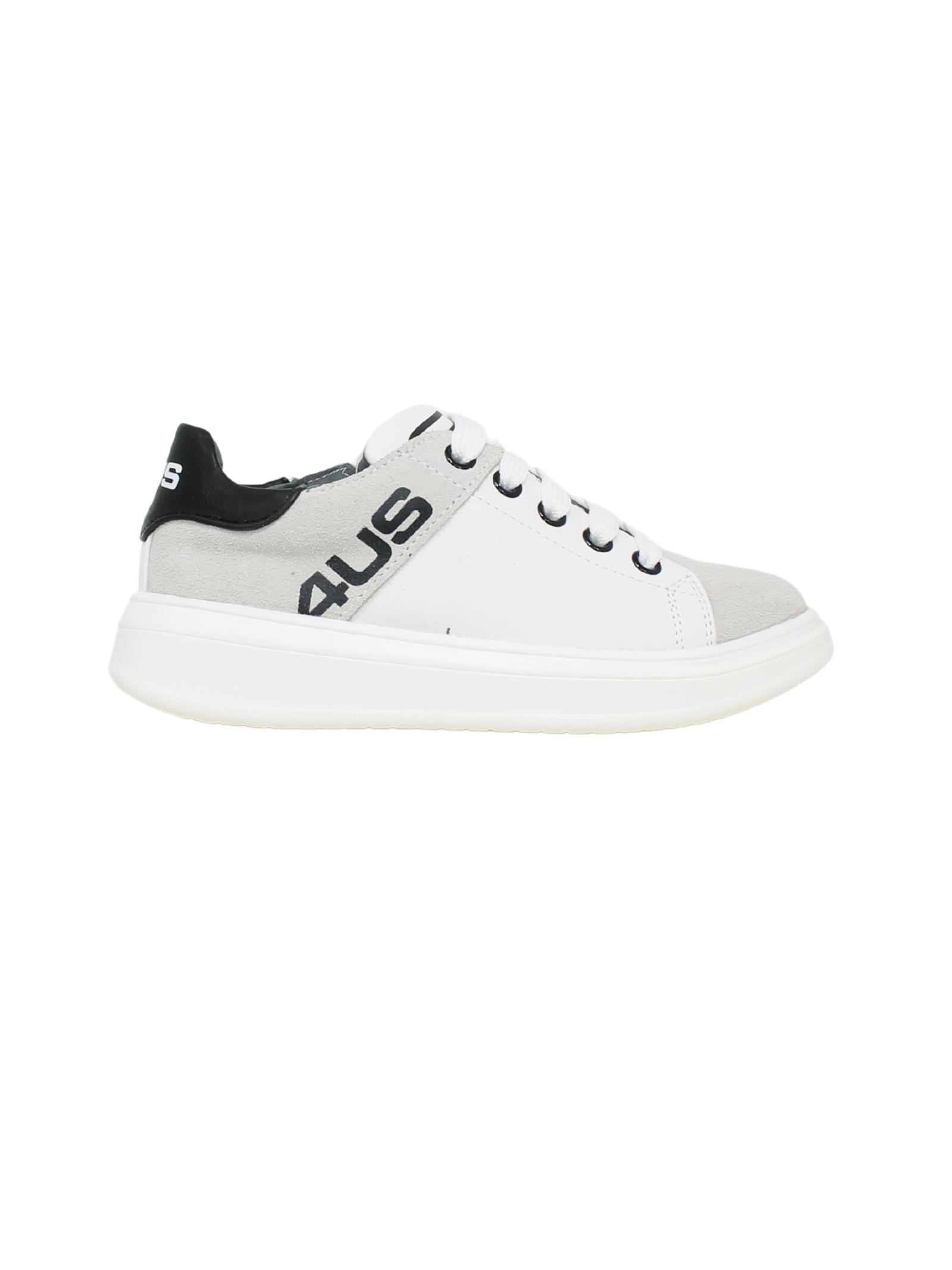 Black White Sneakers Child CESARE PACIOTTI | Sneakers | 4U003BIANCO