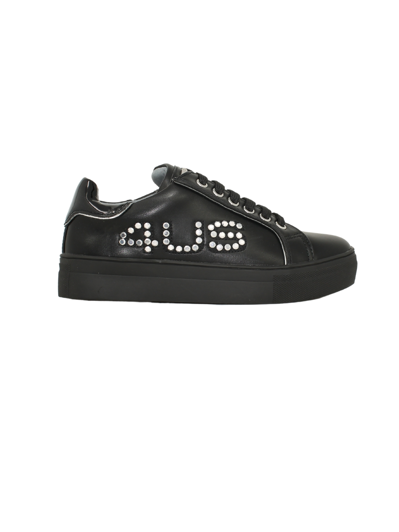 Sneakers Bassa Nera Borchie Bambina CESARE PACIOTTI | Sneakers | 4U064BNERO