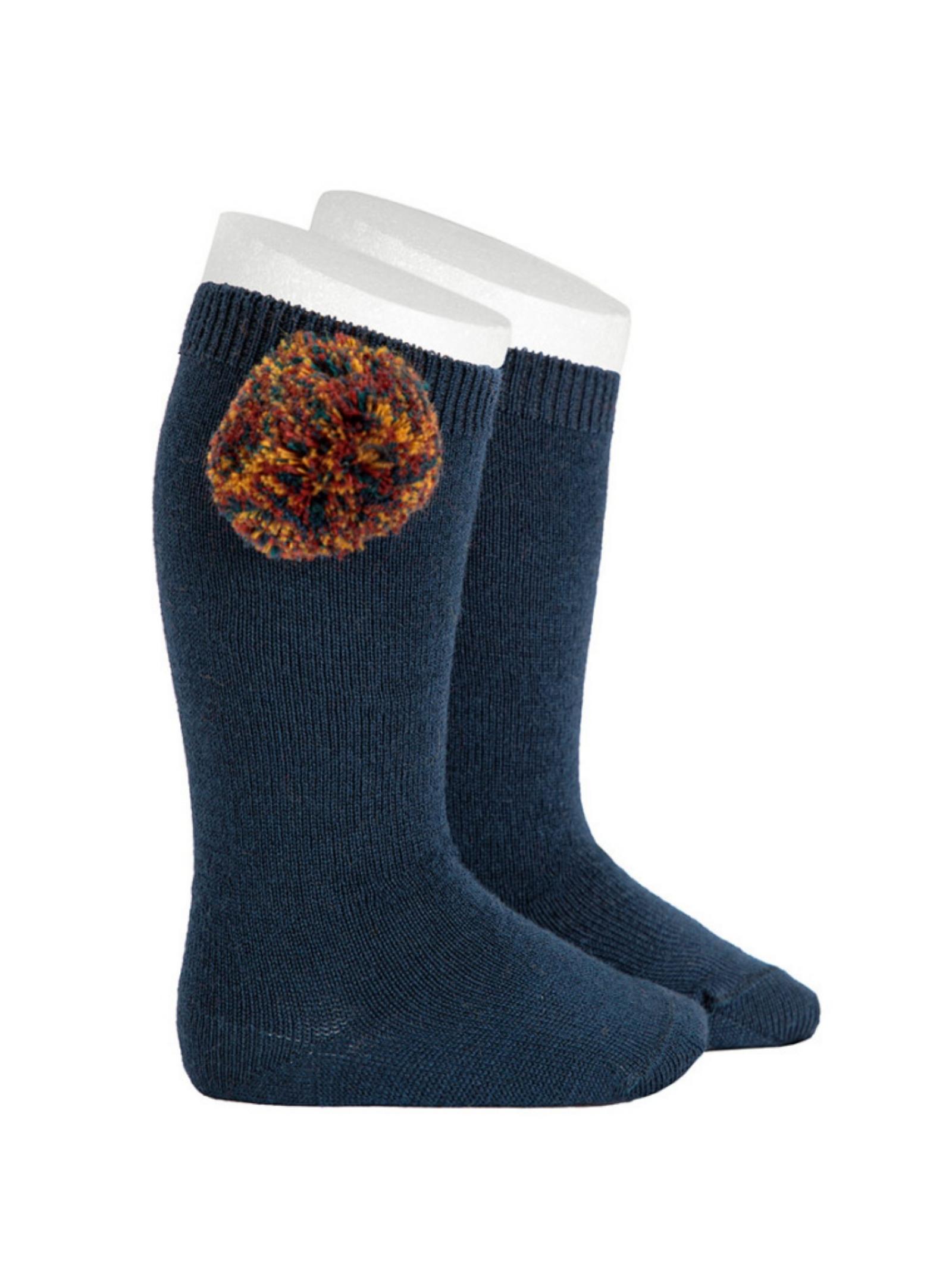 Vintage Baby Pompon Socks CONDOR | Socks | 14192948
