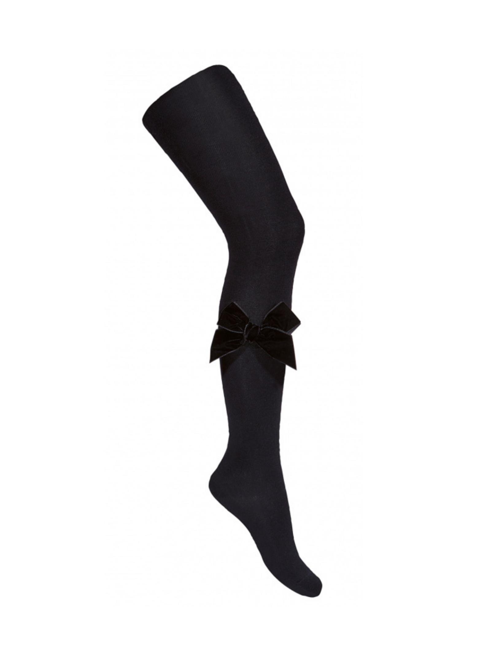 Velvet Bow Tights for Girls CONDOR |  | 24891900