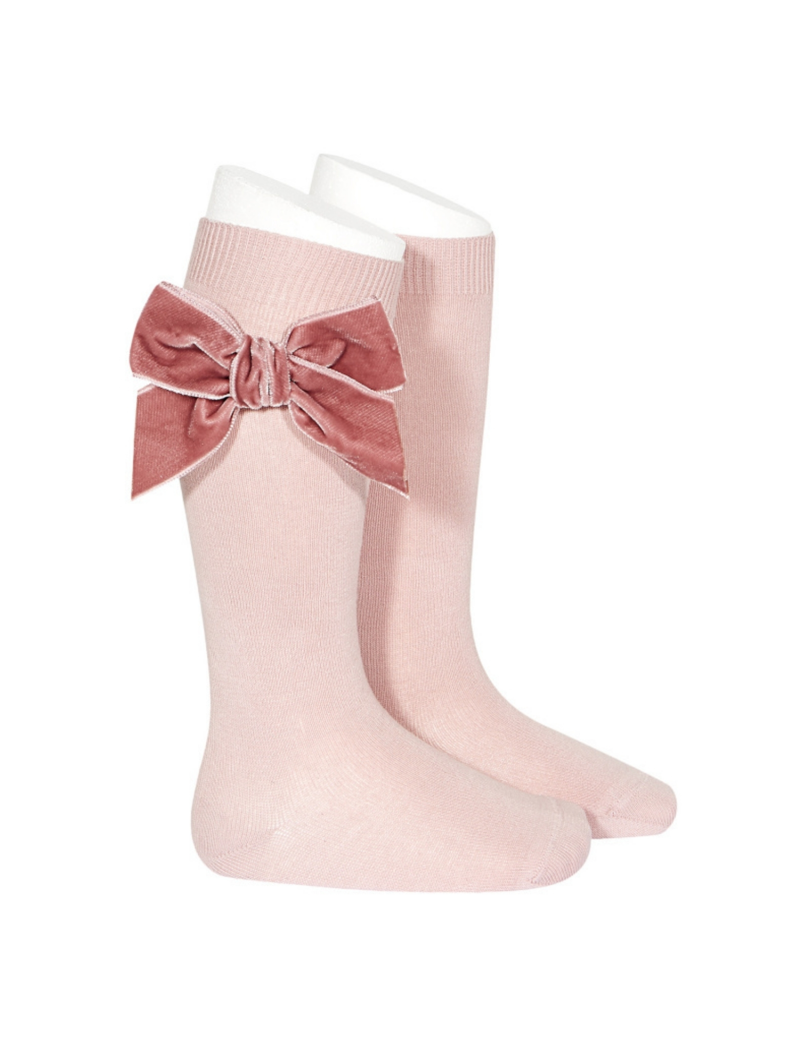 Parisian Bow Socks for Girls CONDOR | Socks | 24892526