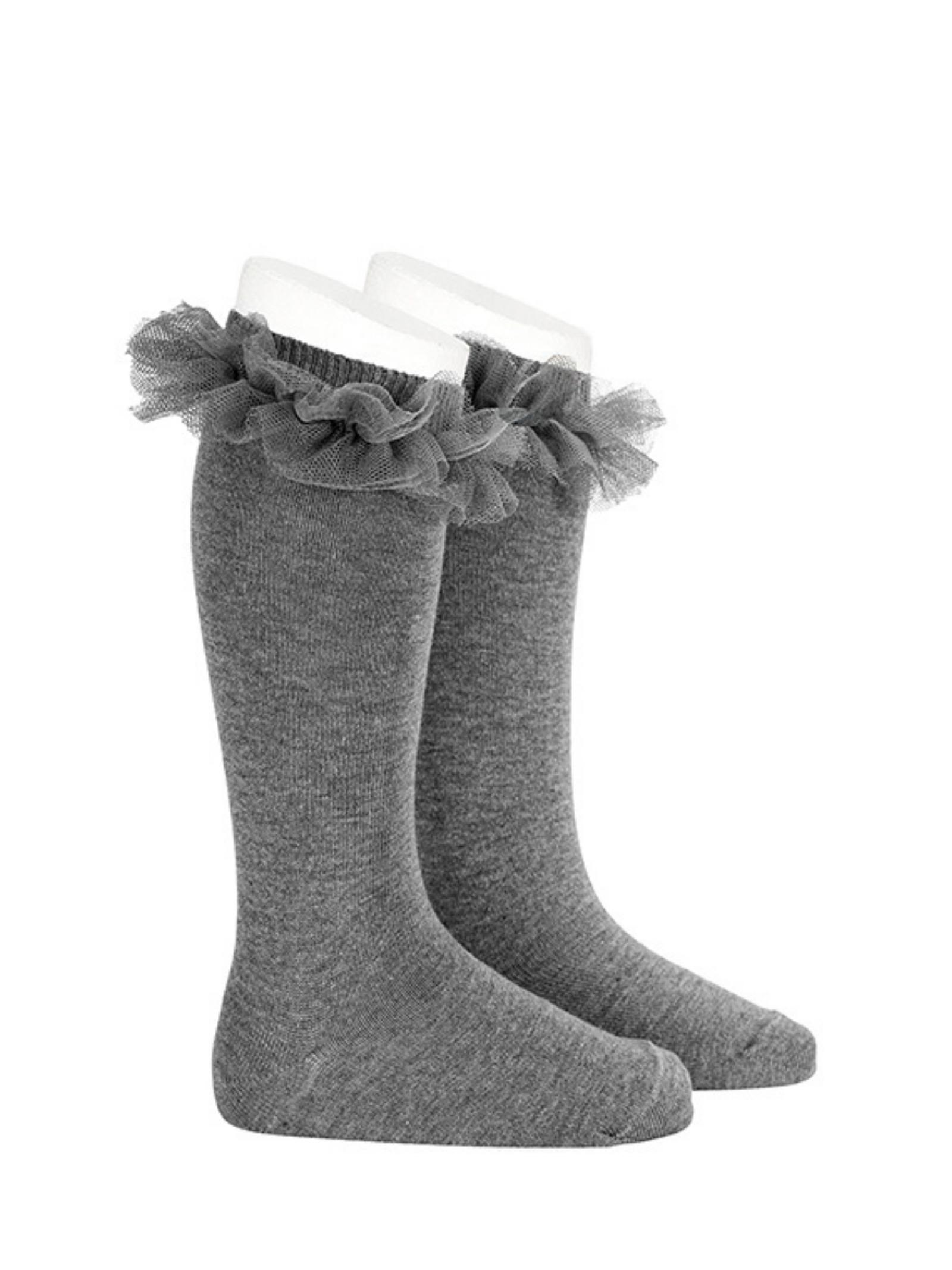 High Tulle Socks for Girls CONDOR | Socks | 24942230