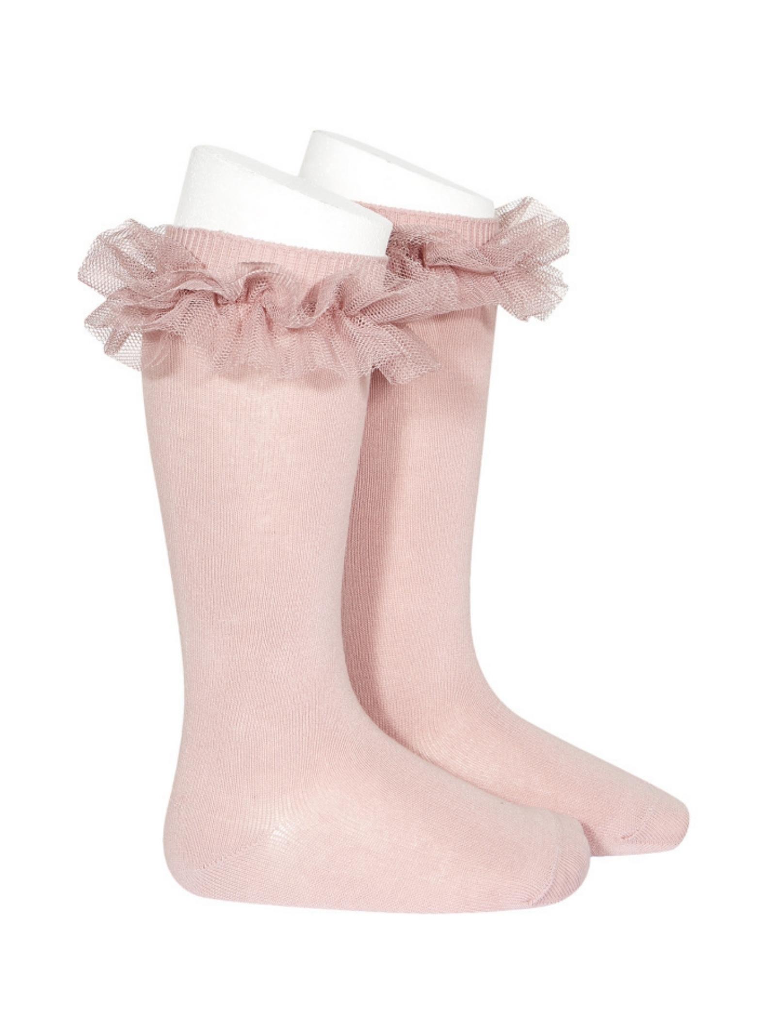 High Tulle Socks for Girls CONDOR | Socks | 24942526
