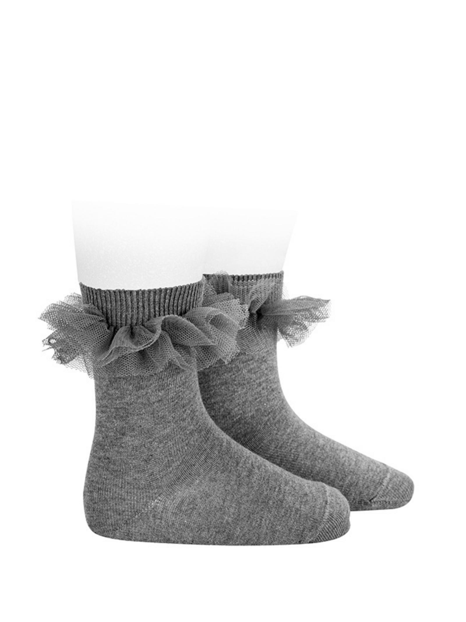 Low Tulle Socks for Girls CONDOR | Socks | 24944230