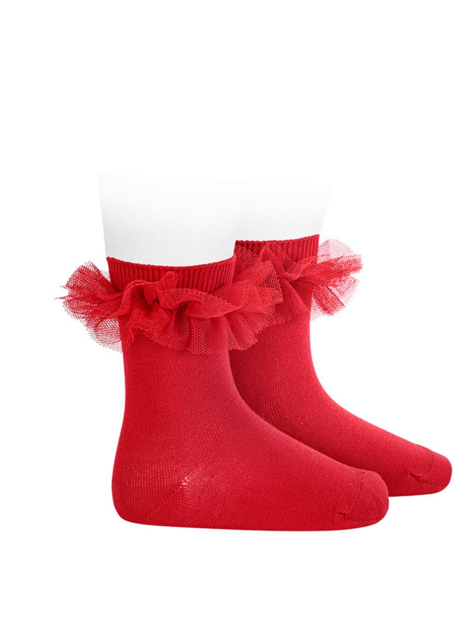 Low Tulle Socks for Girls CONDOR | Socks | 24944550
