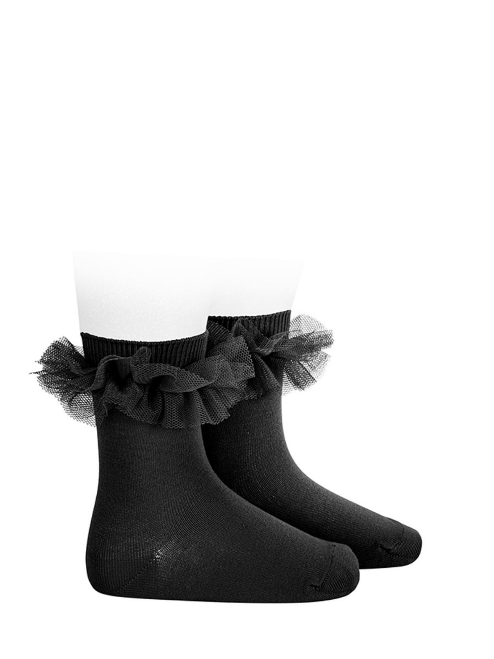 Low Tulle Socks for Girls CONDOR | Socks | 24944900