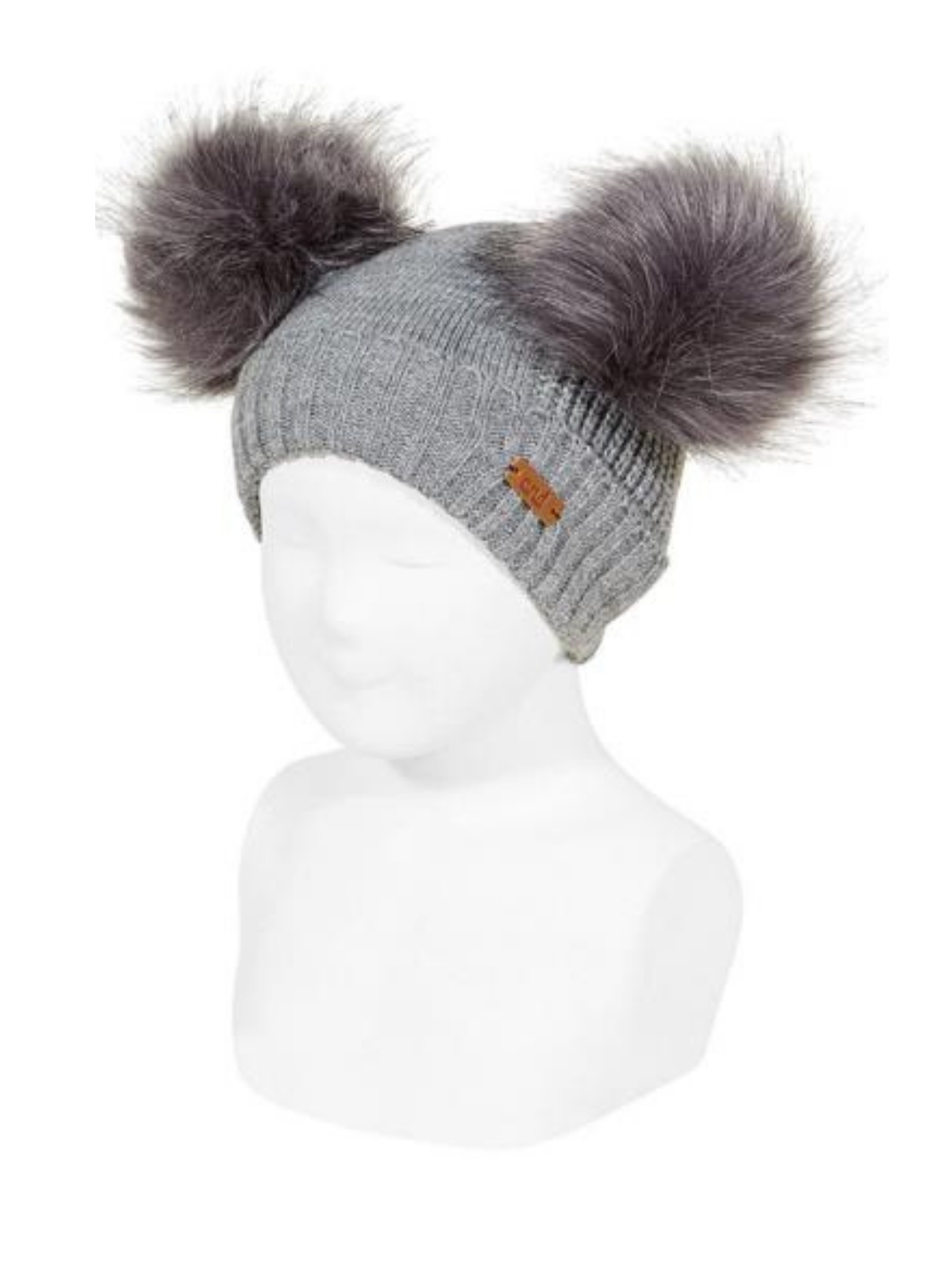 Cappello Costine Doppio Pompon Unisex CONDOR | Cappelli | 50031011230