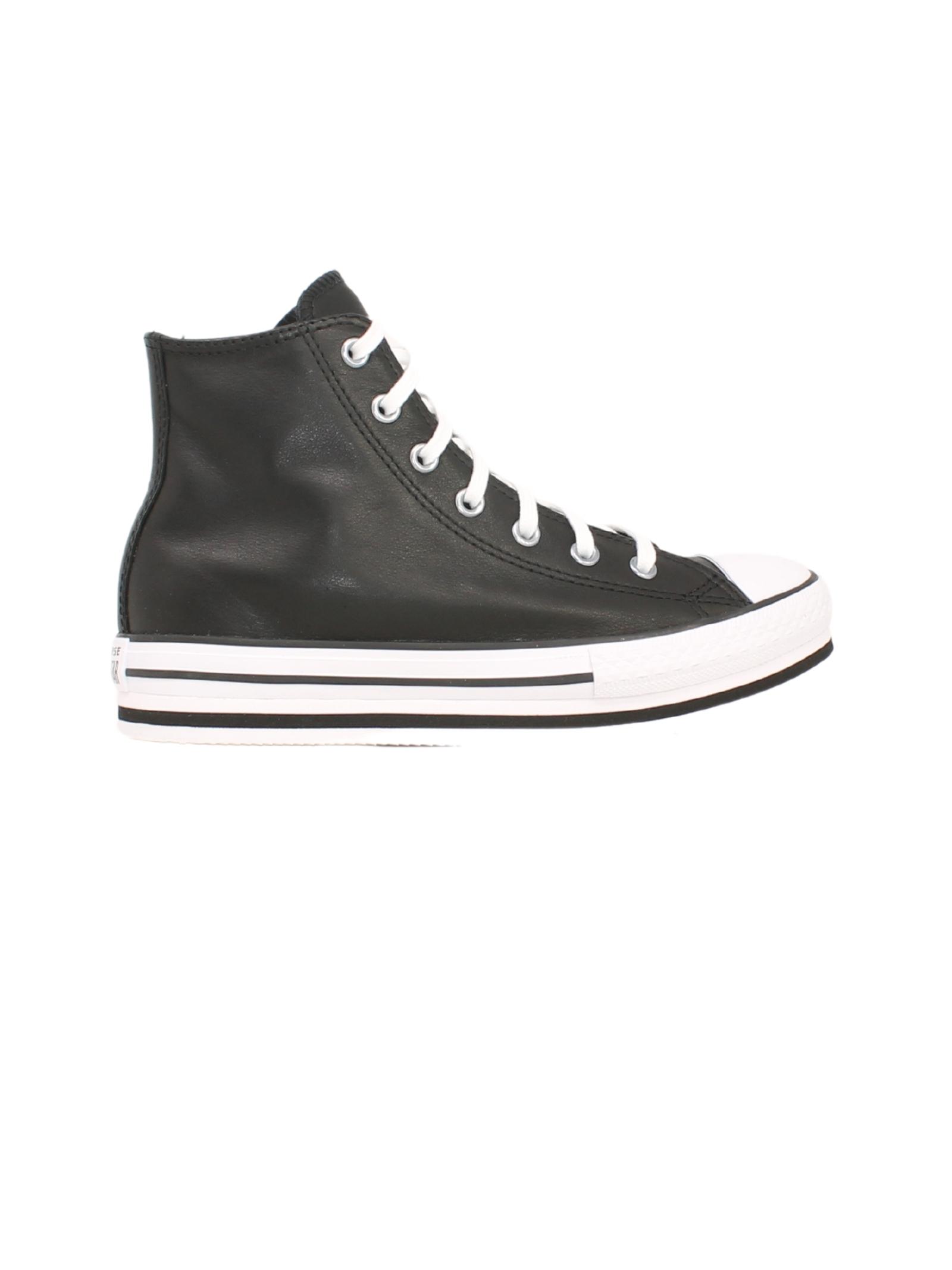 High Sneakers Black White Girl CONVERSE KIDS | Sneakers | 666391CNERO