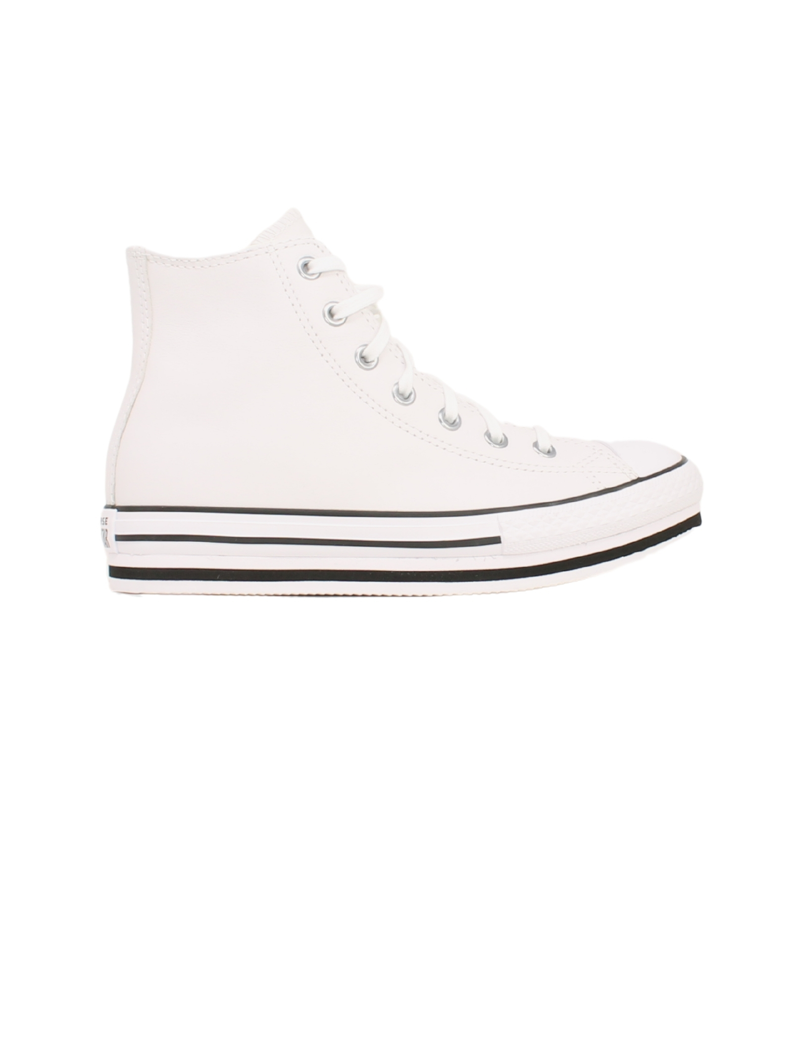 High Sneakers Total White Girl, CONVERSE KIDS | Sneakers | 666392CBIANCO