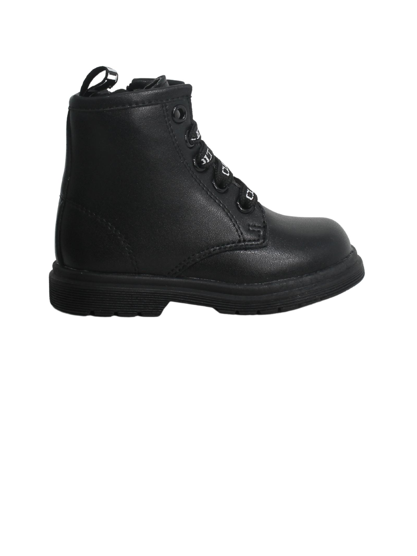 Boys / girls imitation leather combat boots CULT | Amphibians | START1BLACK