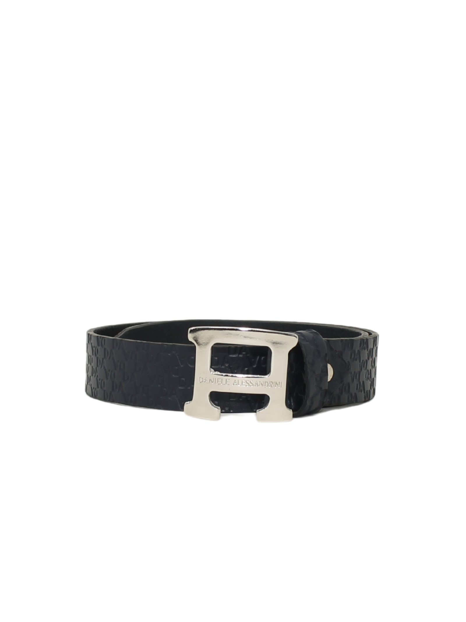 Elegant Child's leatherette belt DANIELE ALESSANDRINI JUNIOR | Belts | 1231BELT1178BLU