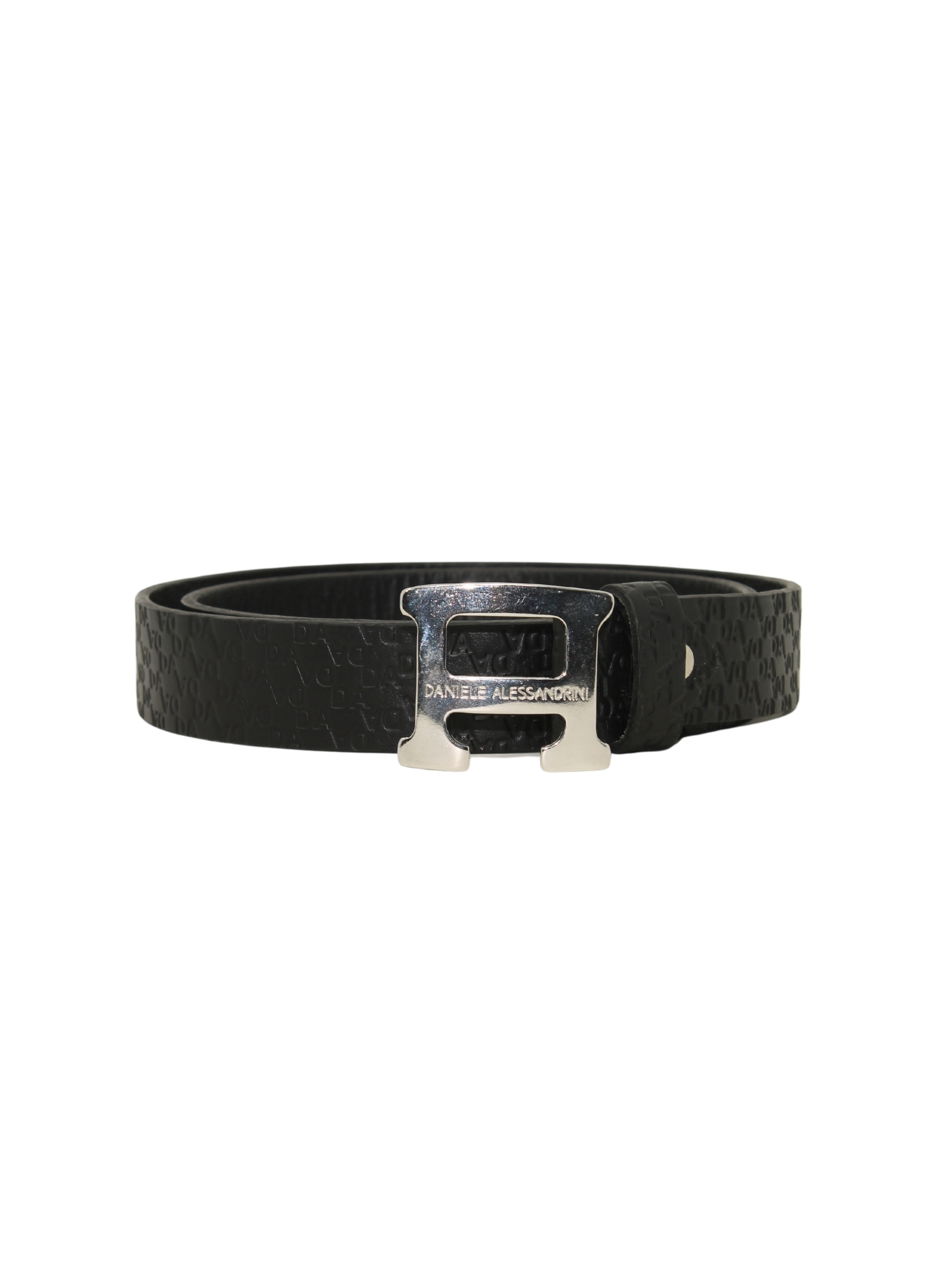 Elegant Child's leatherette belt DANIELE ALESSANDRINI JUNIOR | Belts | 1231BELT1178NERO