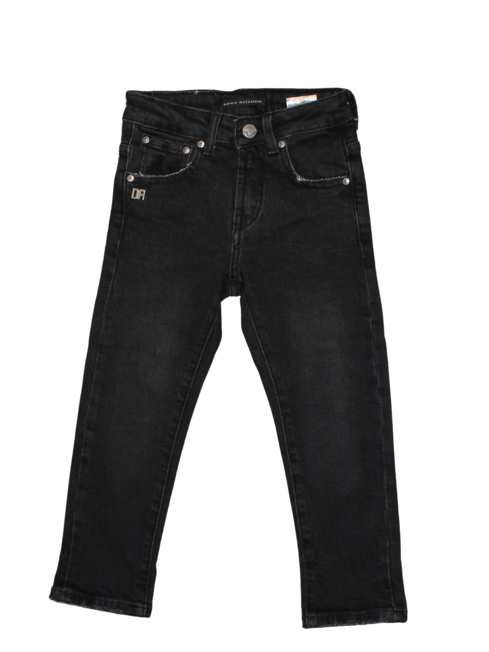 Black Jeans for Boys DANIELE ALESSANDRINI JUNIOR | Trousers | 1231D1039NERO