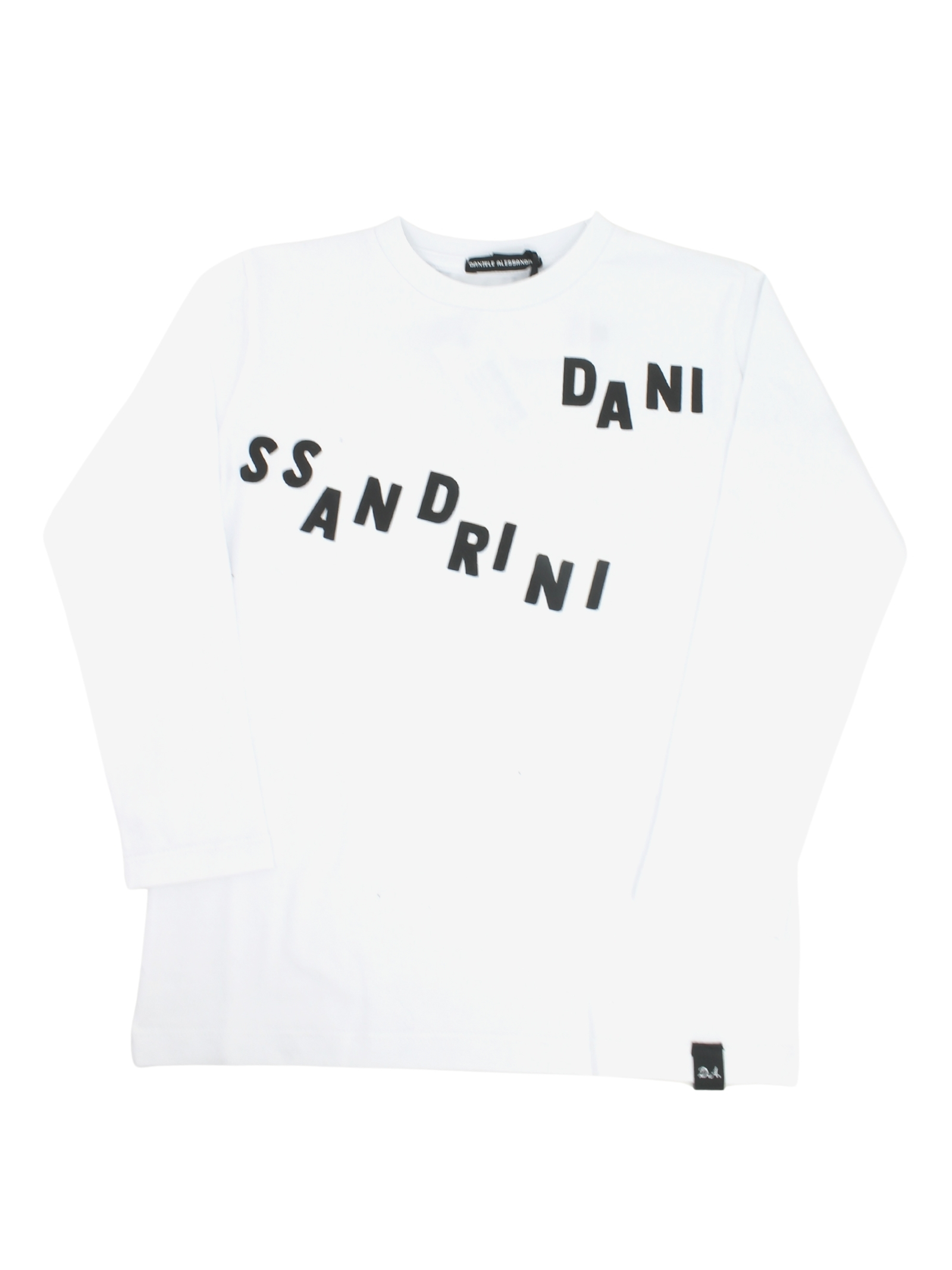 White Child T-shirt DANIELE ALESSANDRINI JUNIOR | T-shirt | 1231M1084BIANCO