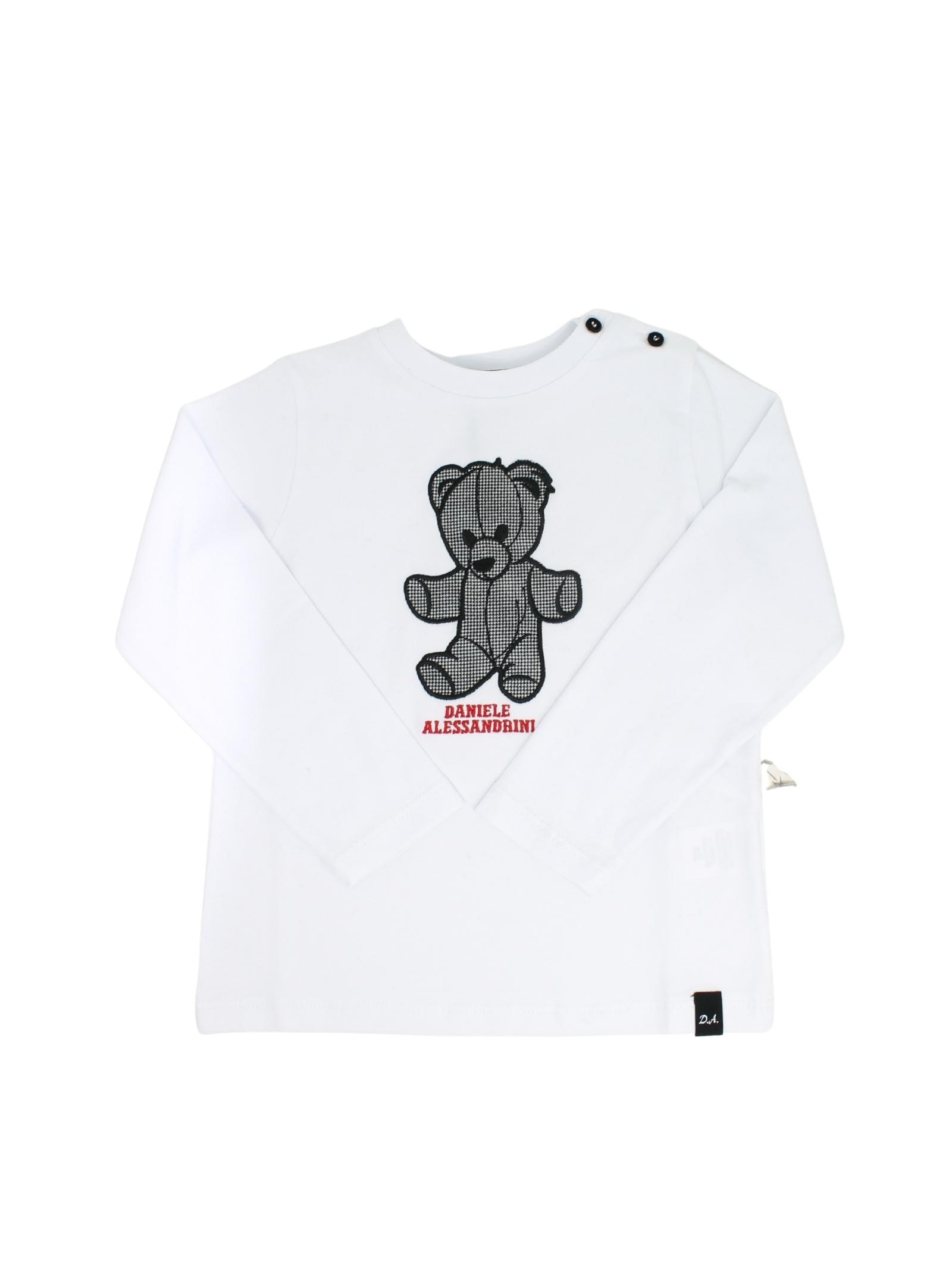 Baby Bear T-shirt DANIELE ALESSANDRINI JUNIOR | T-shirt | 1291M0742BIANCO