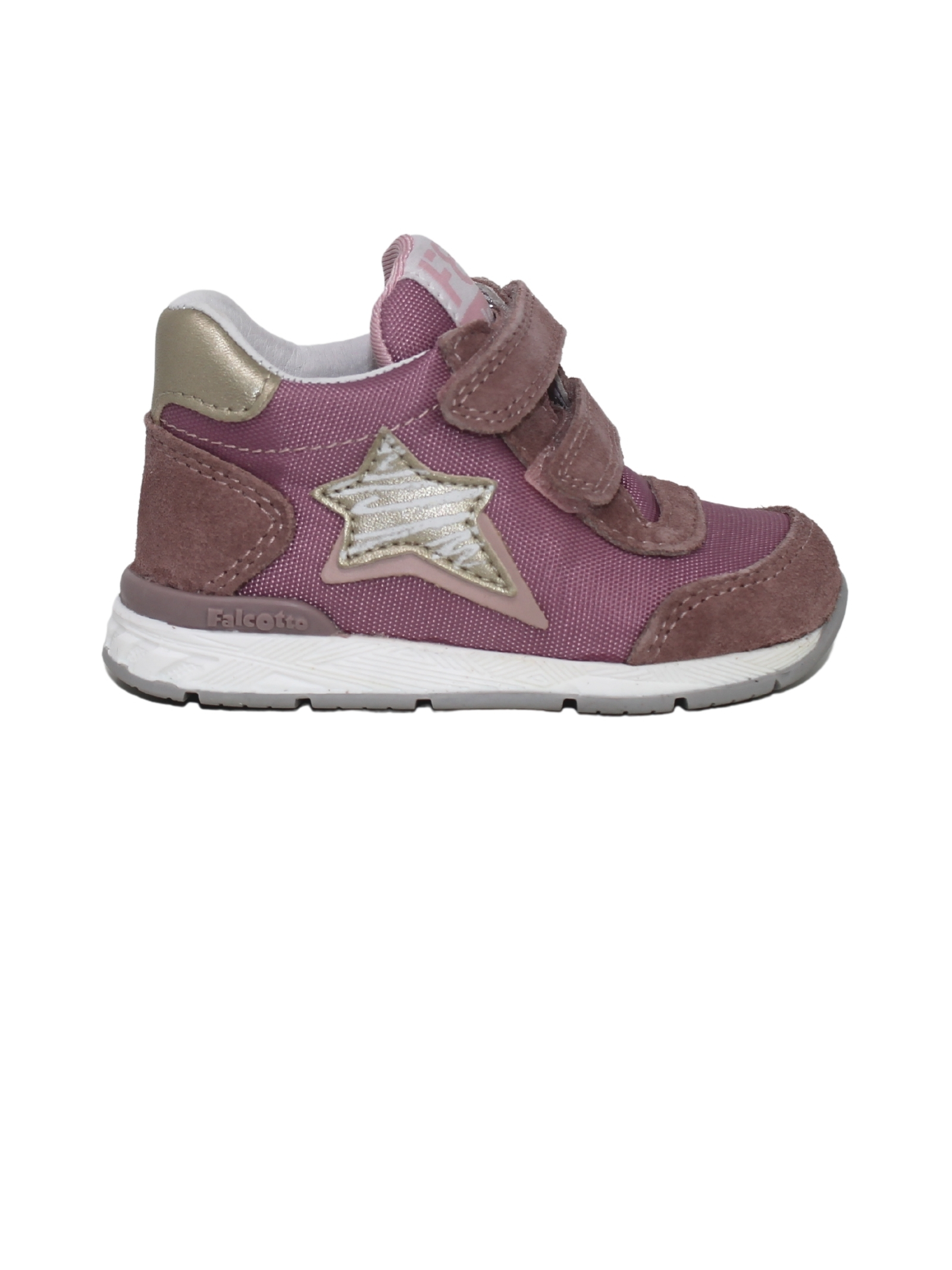 Pink Low Sneakers for Girls FALCOTTO | Sneakers | 0012015873040M03ROSE