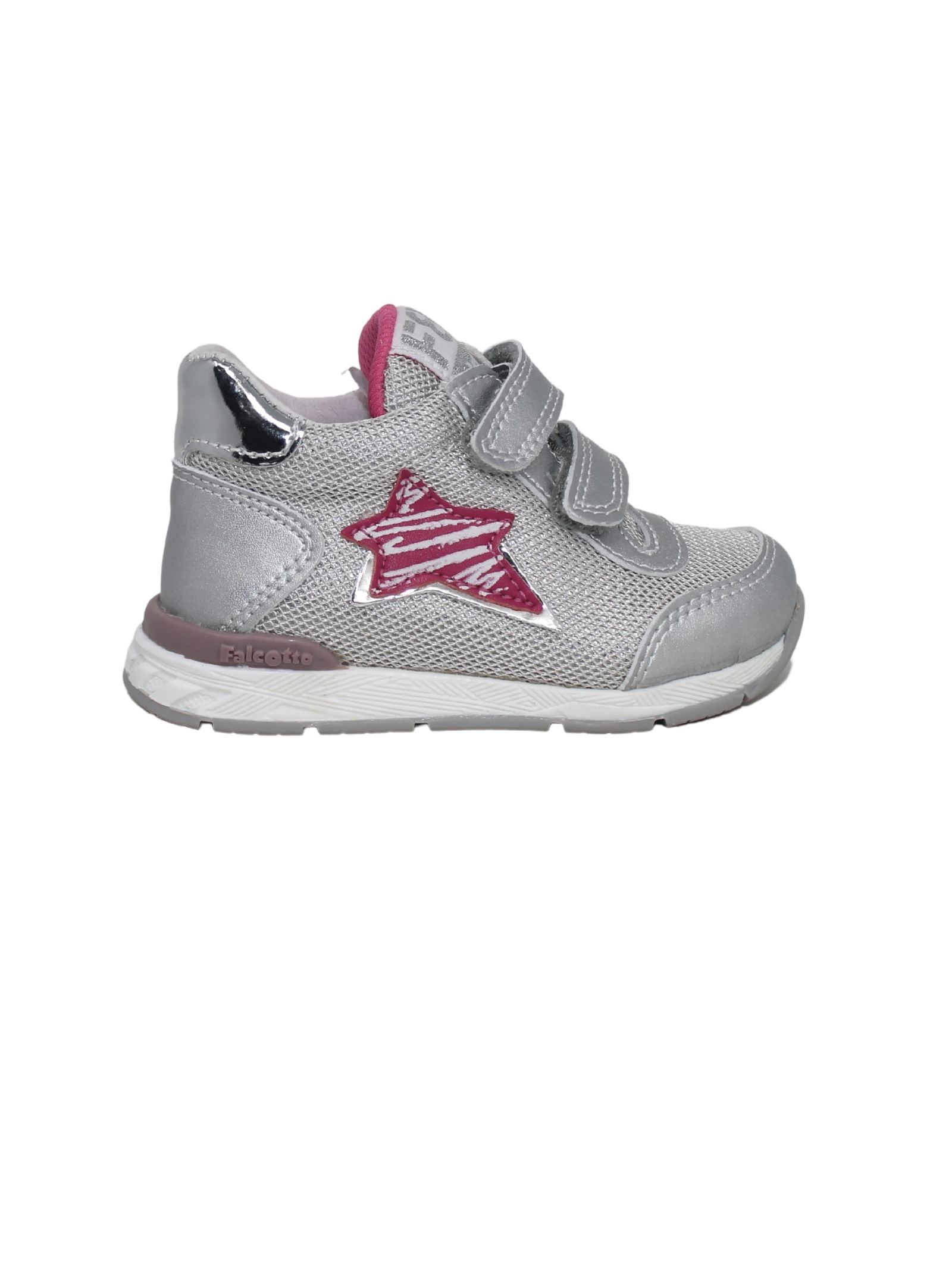 Sport sneakers with star FALCOTTO | Sneakers | 0012015873050Q03SILVER