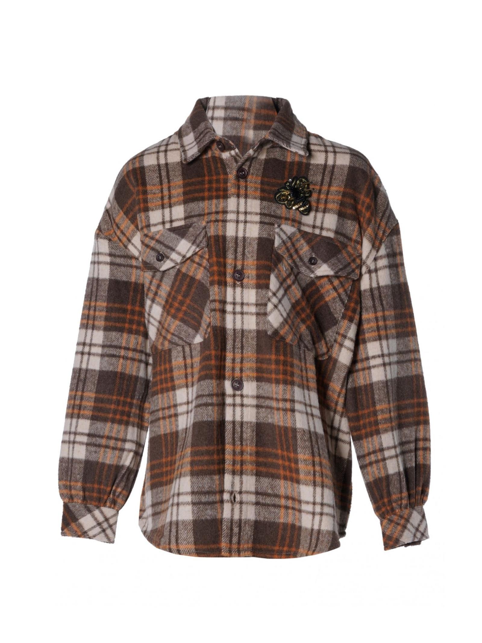 Maxi Camicia Righe Bambina FUN&FUN | Camicie | FCJJK9449MULTICOLOR