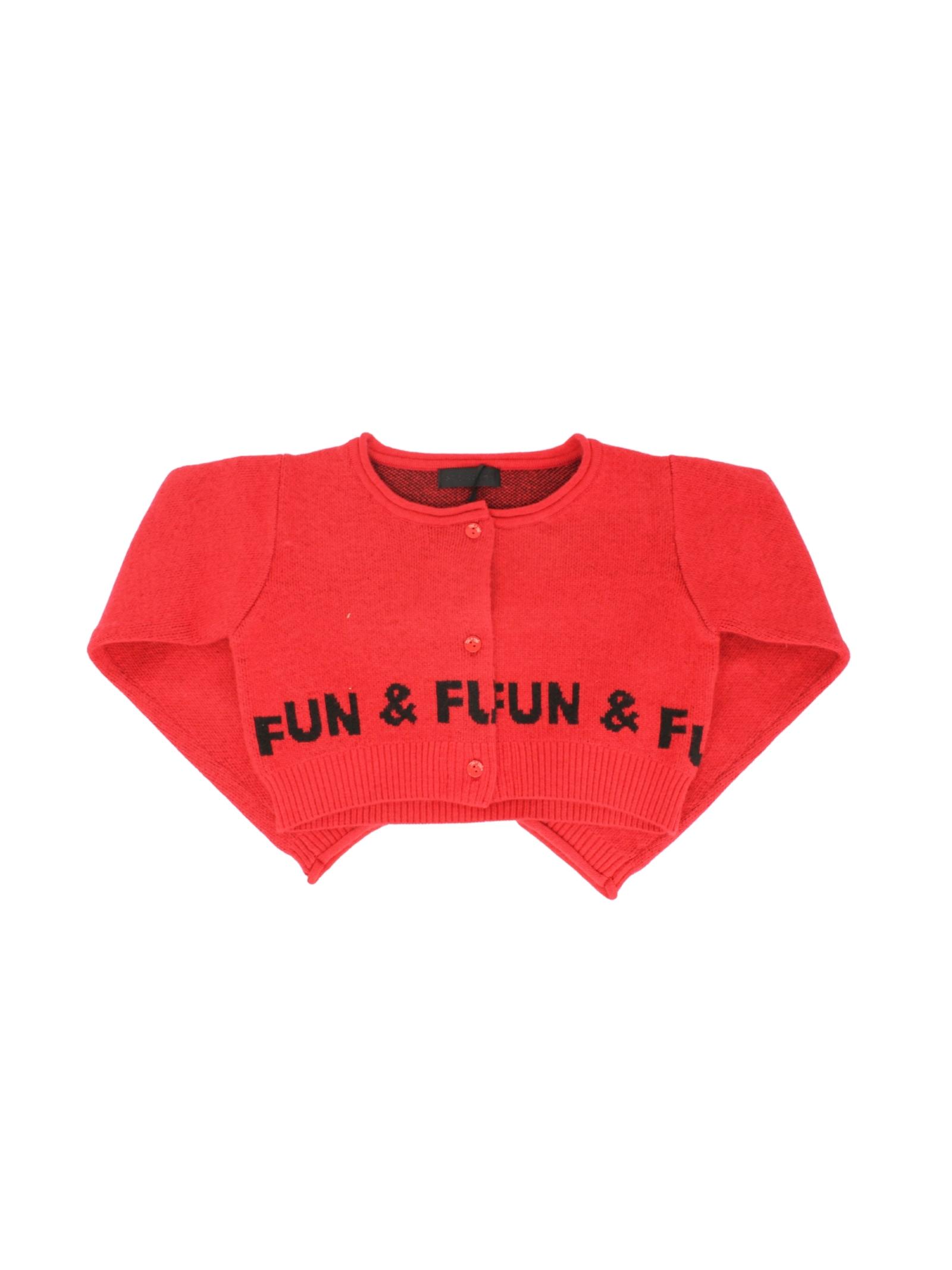 Cardigan Corto Bambina FUN&FUN | Cardigan | FNBSW8937005