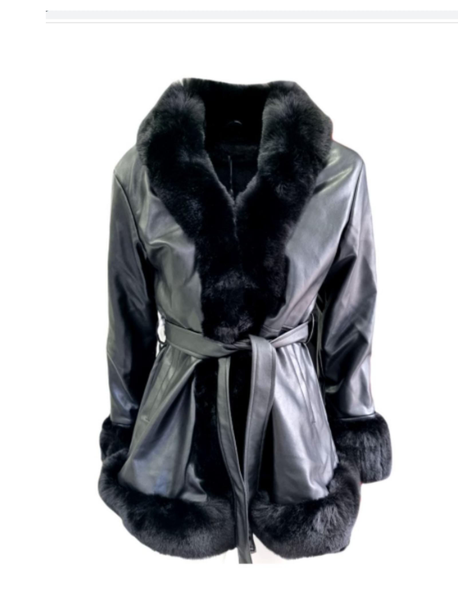 Cappotto Fashion Ecopelliccia Bambina, FUN&FUN | Cappotti | FNJCT8998NERO