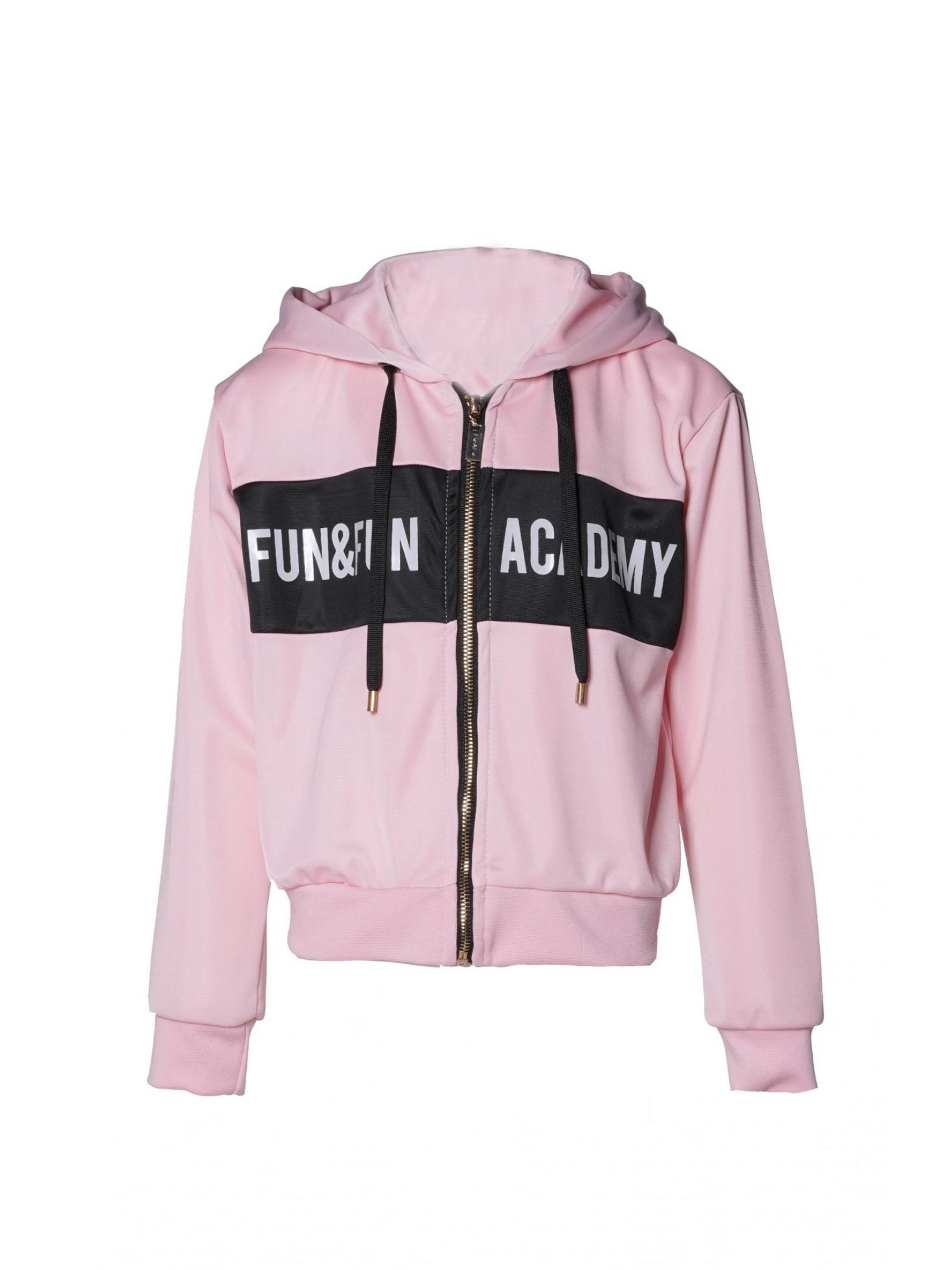 Felpa Pink Logo Bambina FUN&FUN | Felpe | FNJST8959ROSA