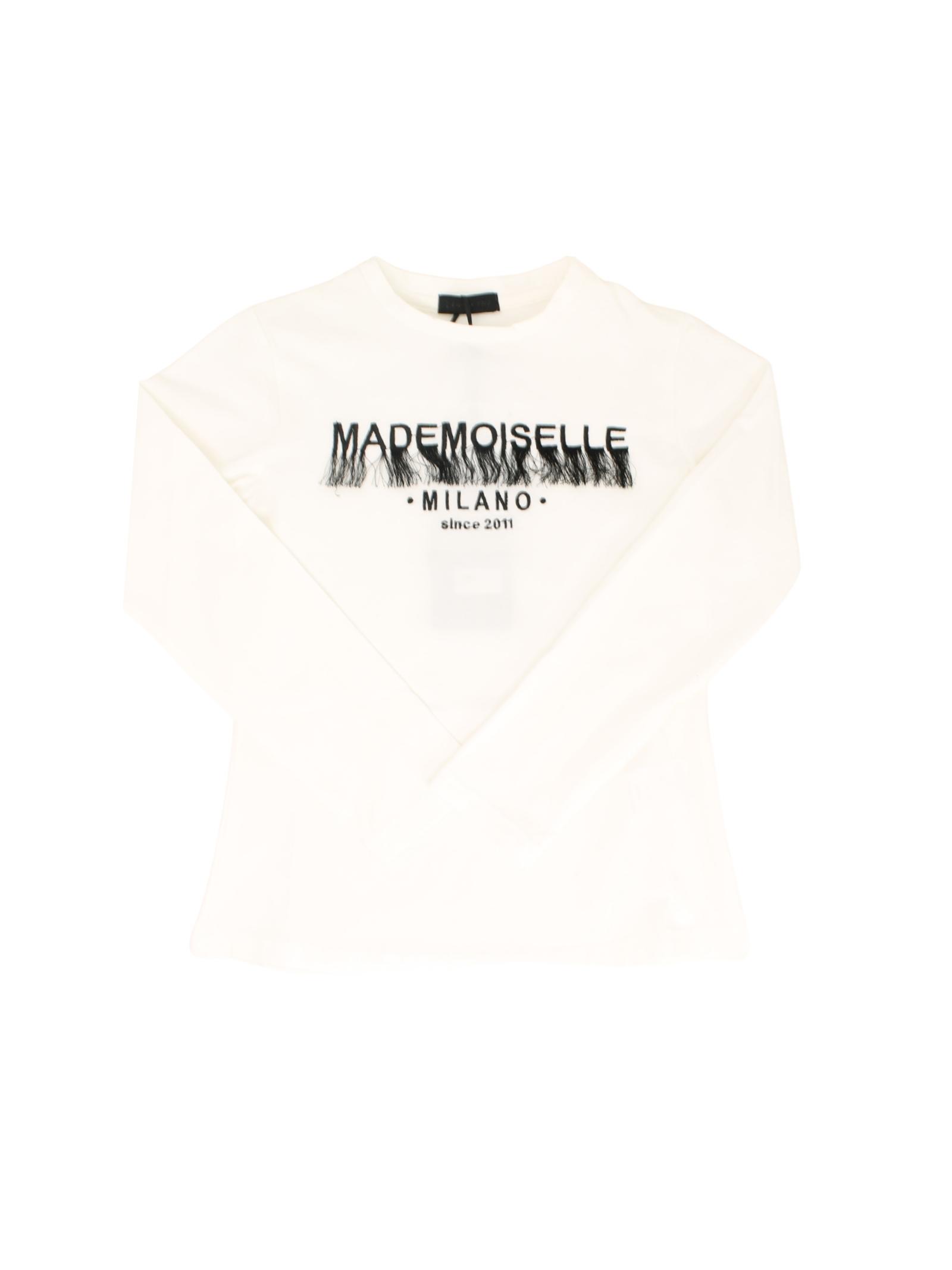 T-shirt Mademoiselle Bambina FUN&FUN | T-shirt | FNJTS8925BIANCO