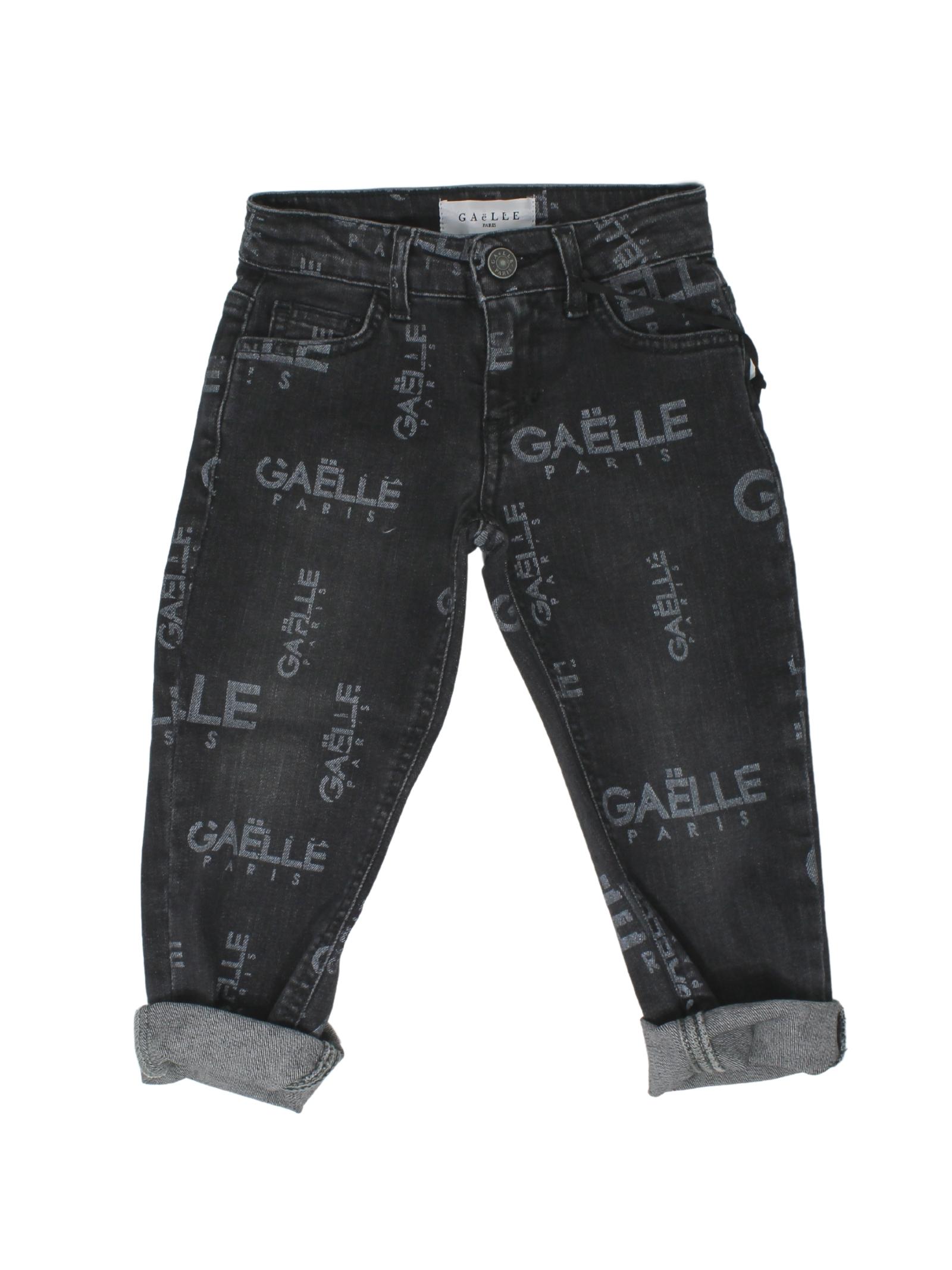 Jeans Cinque Tasche Bambina GAËLLE PARIS KIDS | Pantaloni | 2741D0429NERO