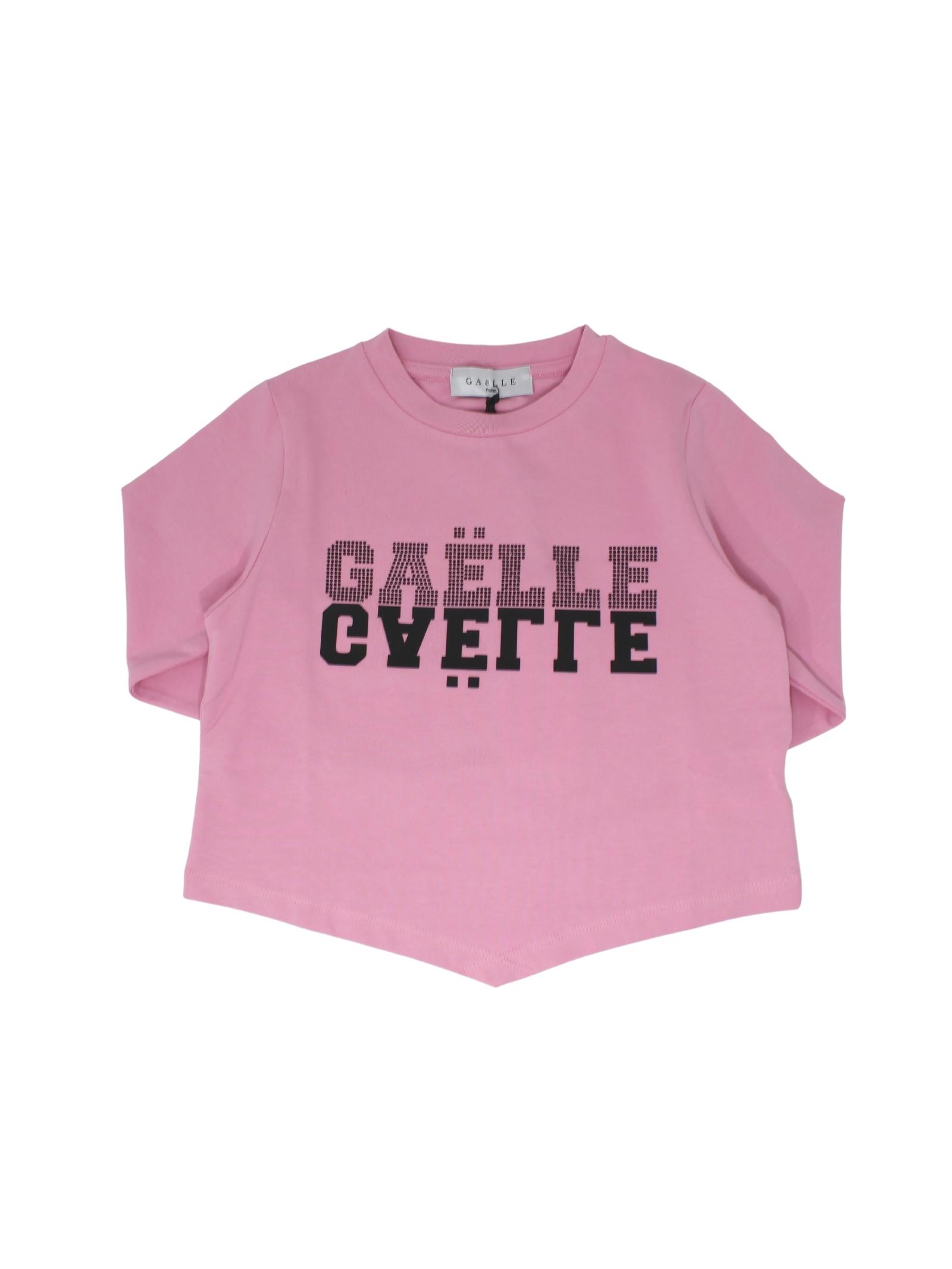 T-shirt Basic Pink Bambina, GAËLLE PARIS KIDS | Maglie | 2741M0326MLROSA