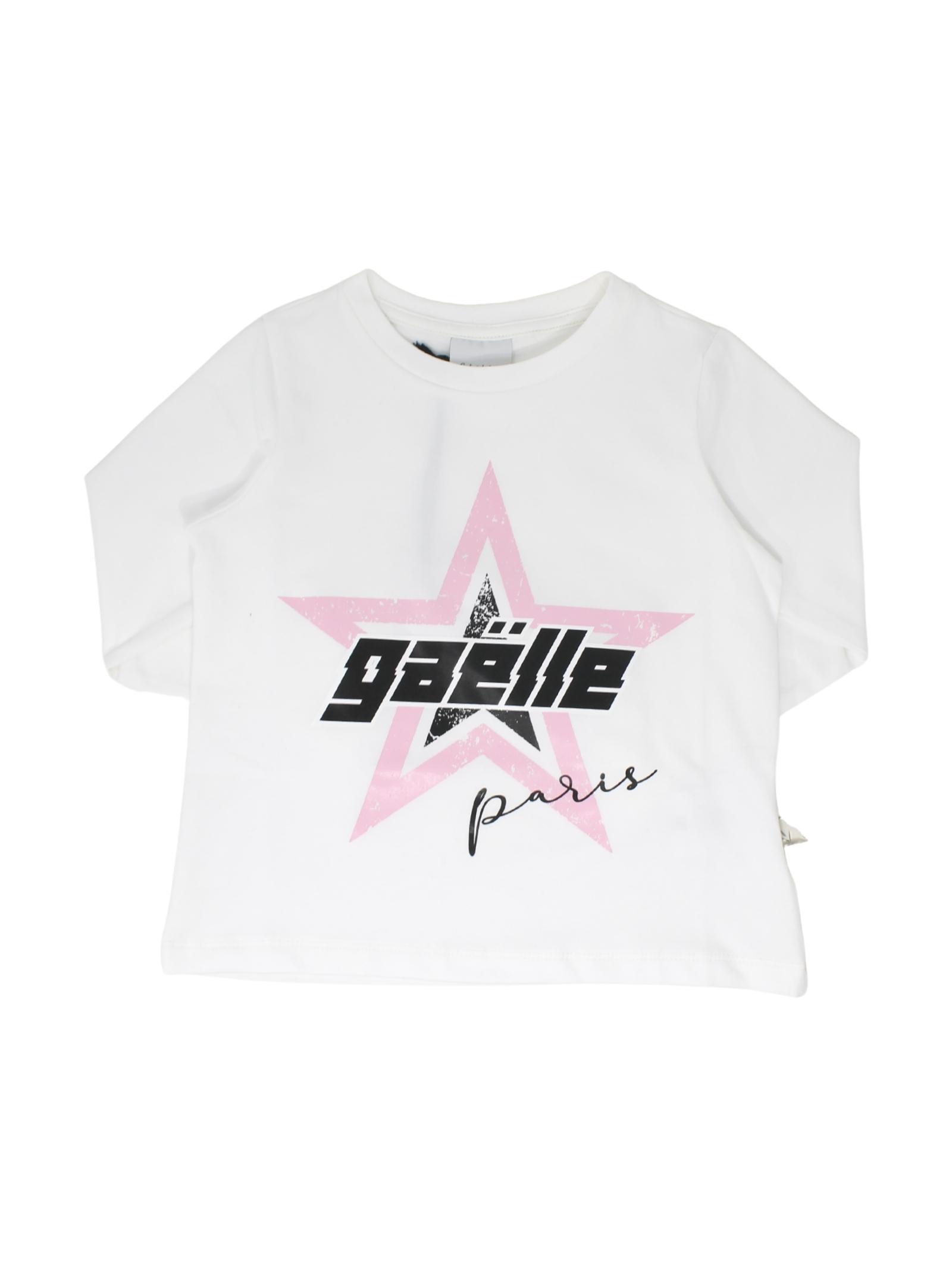 T-shirt Stars Bambina GAËLLE PARIS KIDS | Maglie | 2741M0377MLBIANCO