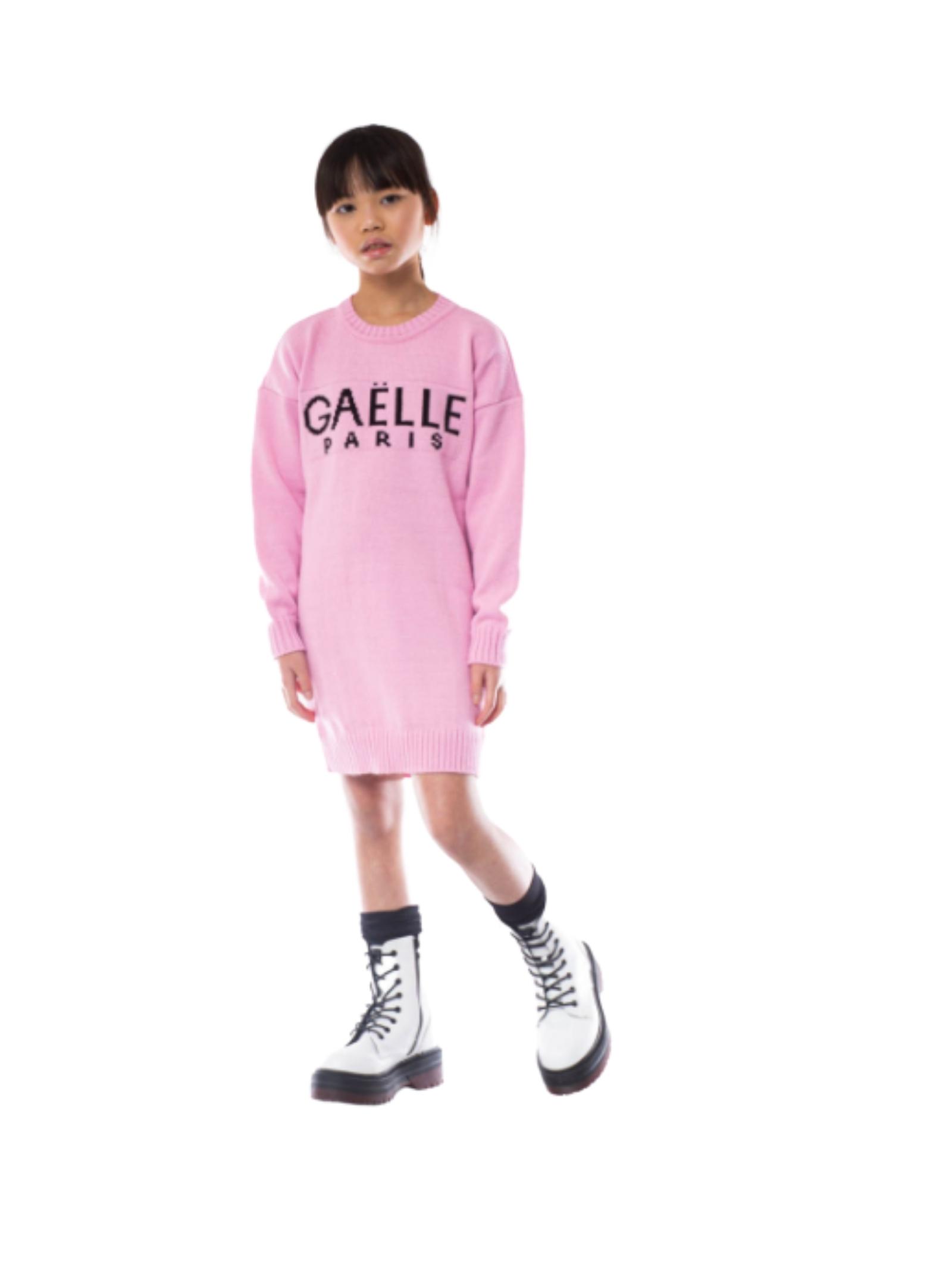 Maxi Abito Pink Girl GAËLLE PARIS KIDS | Vestiti | 2741W0424ROSA