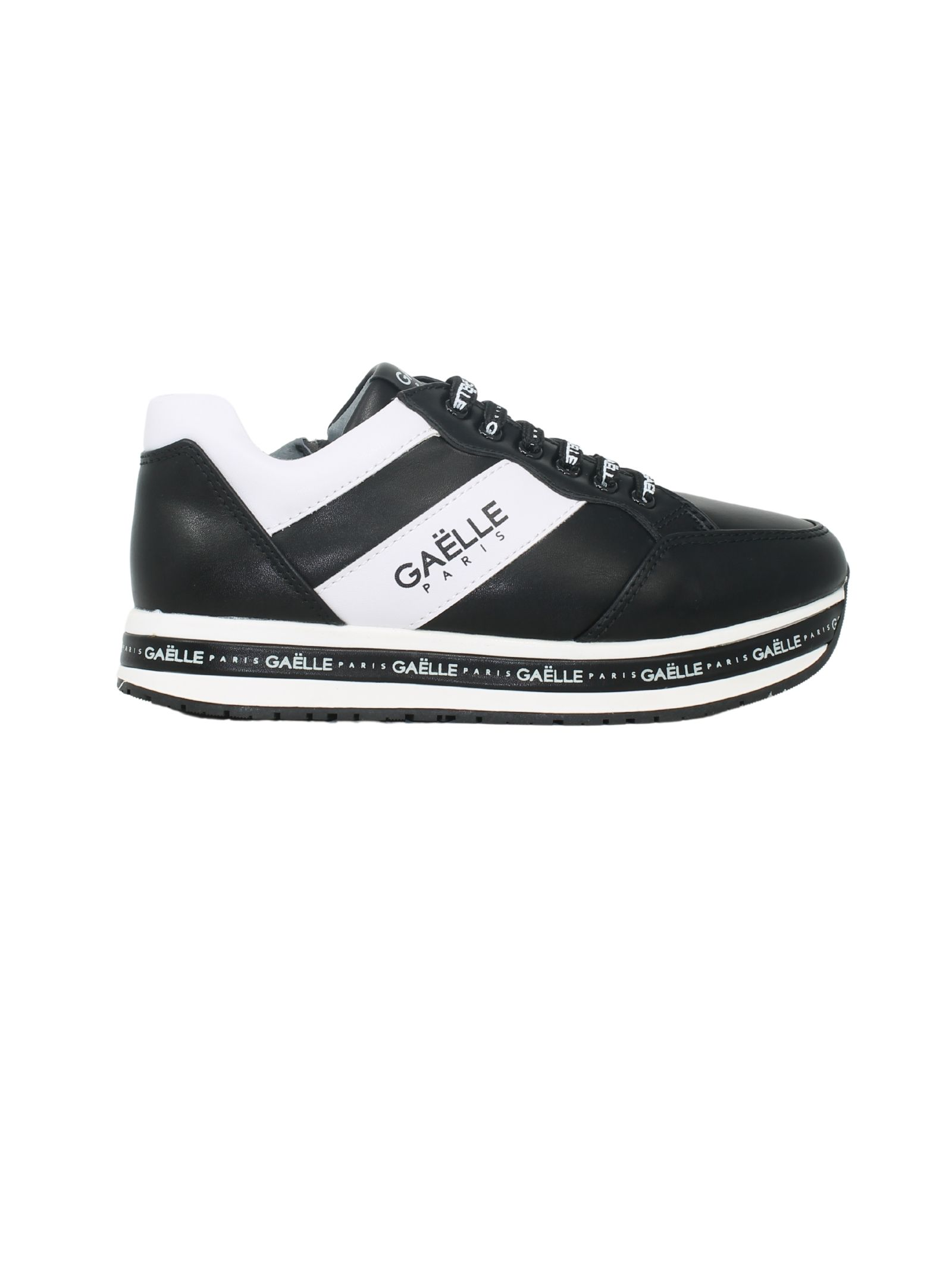 Sneakers Black and White Bambina GAËLLE PARIS KIDS | Sneakers | G1110NERO