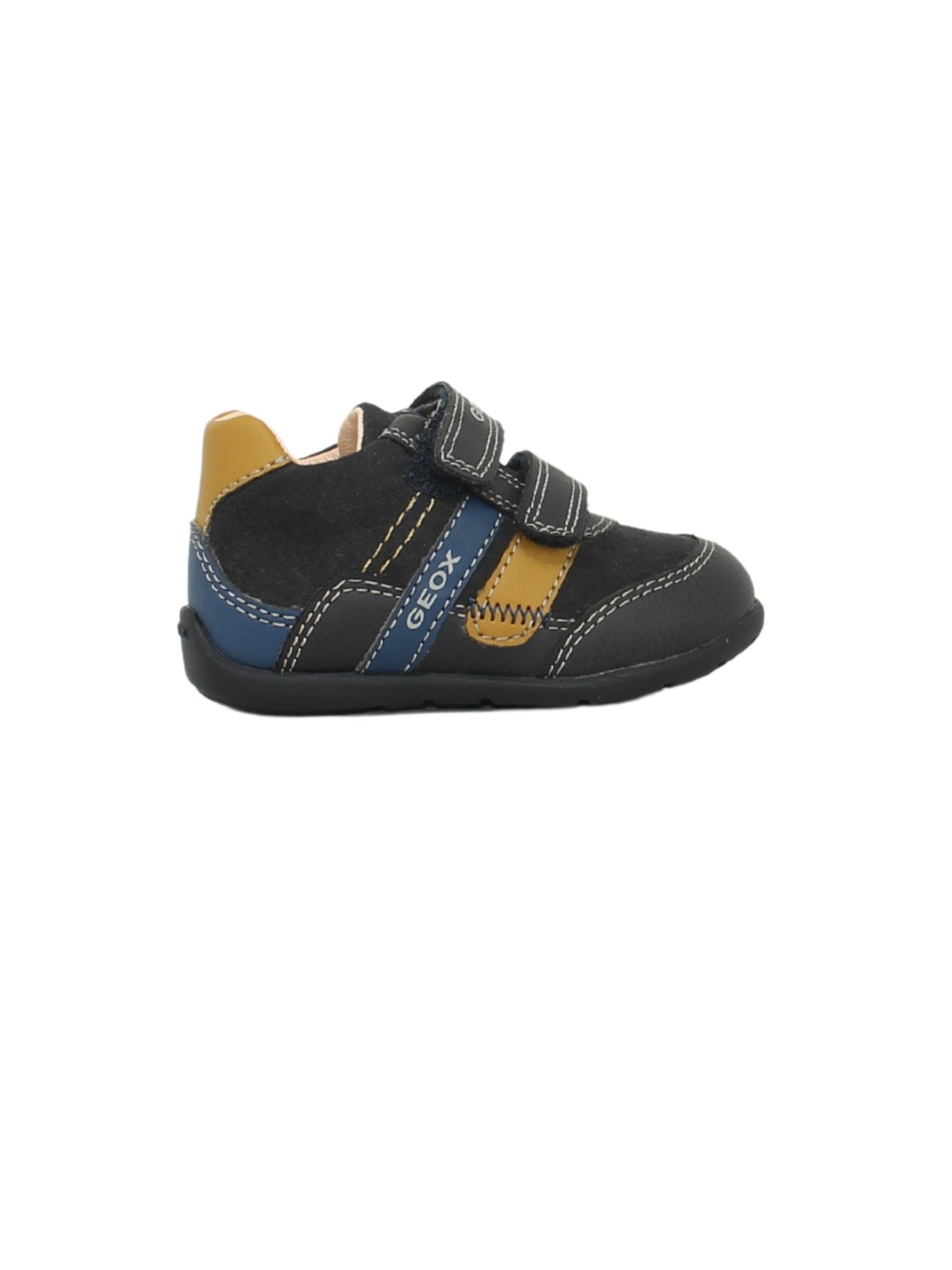 Sneakers Sport Navy Yellow GEOX KIDS | Sneakers | B041PA0MEAFC4229