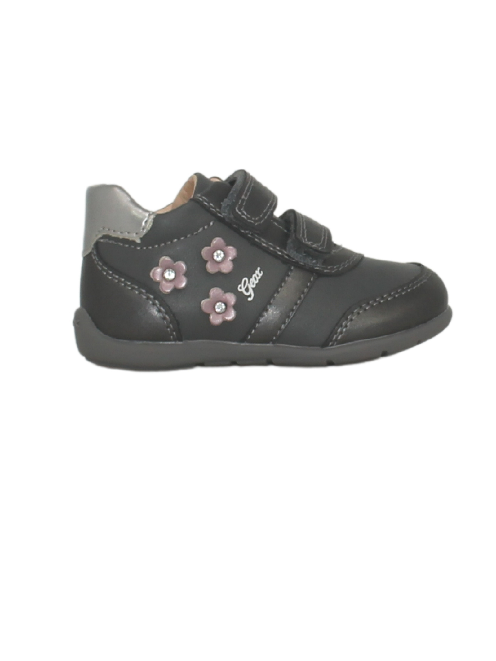 Sneakers Dk Grey Bambina GEOX KIDS   Sneakers   B161QB0NFBCC9002