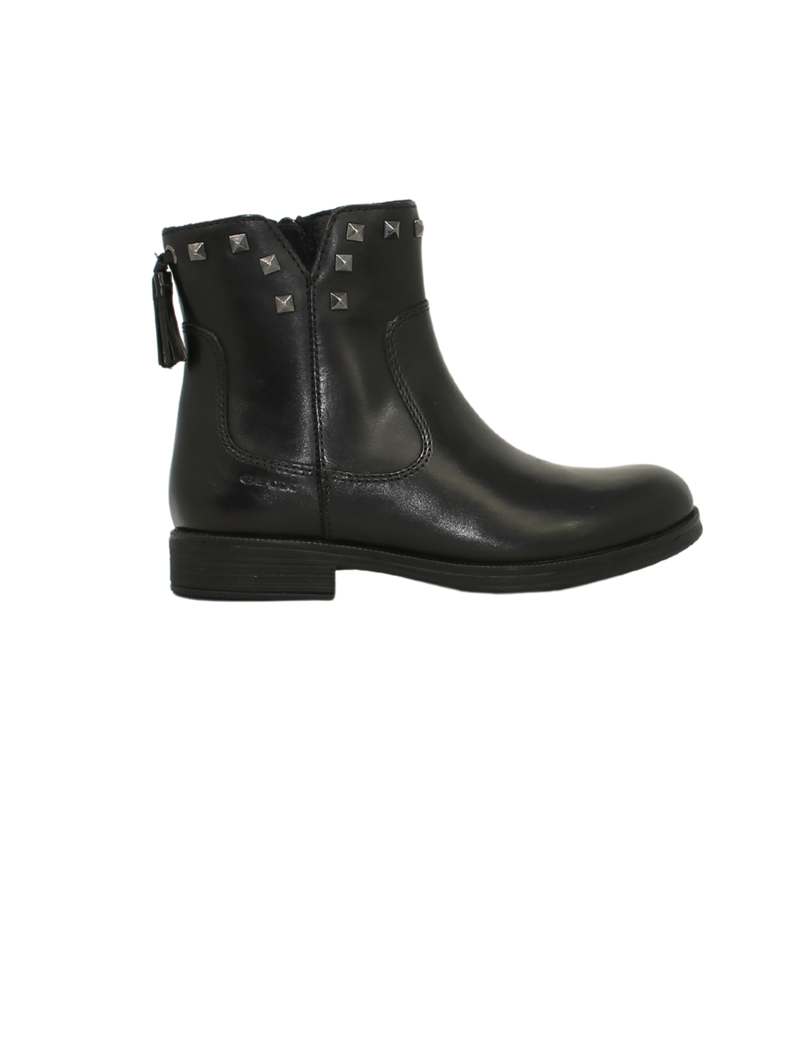 Low ankle boots with studs for girls GEOX KIDS      J1649E00043C9999