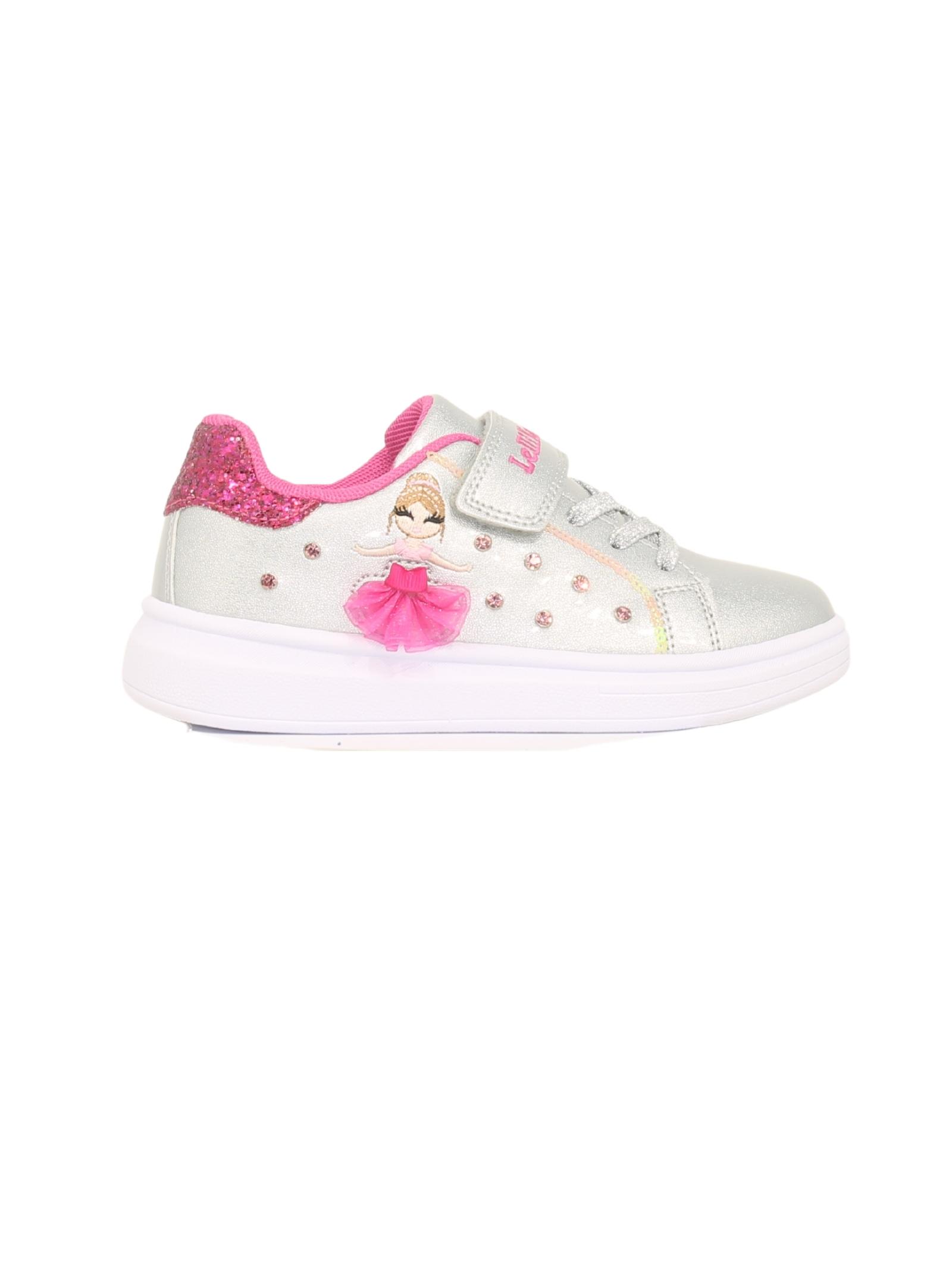 Sneakers Brillantini Bambina LELLI KELLY | Sneakers | LK4826ARGENTO