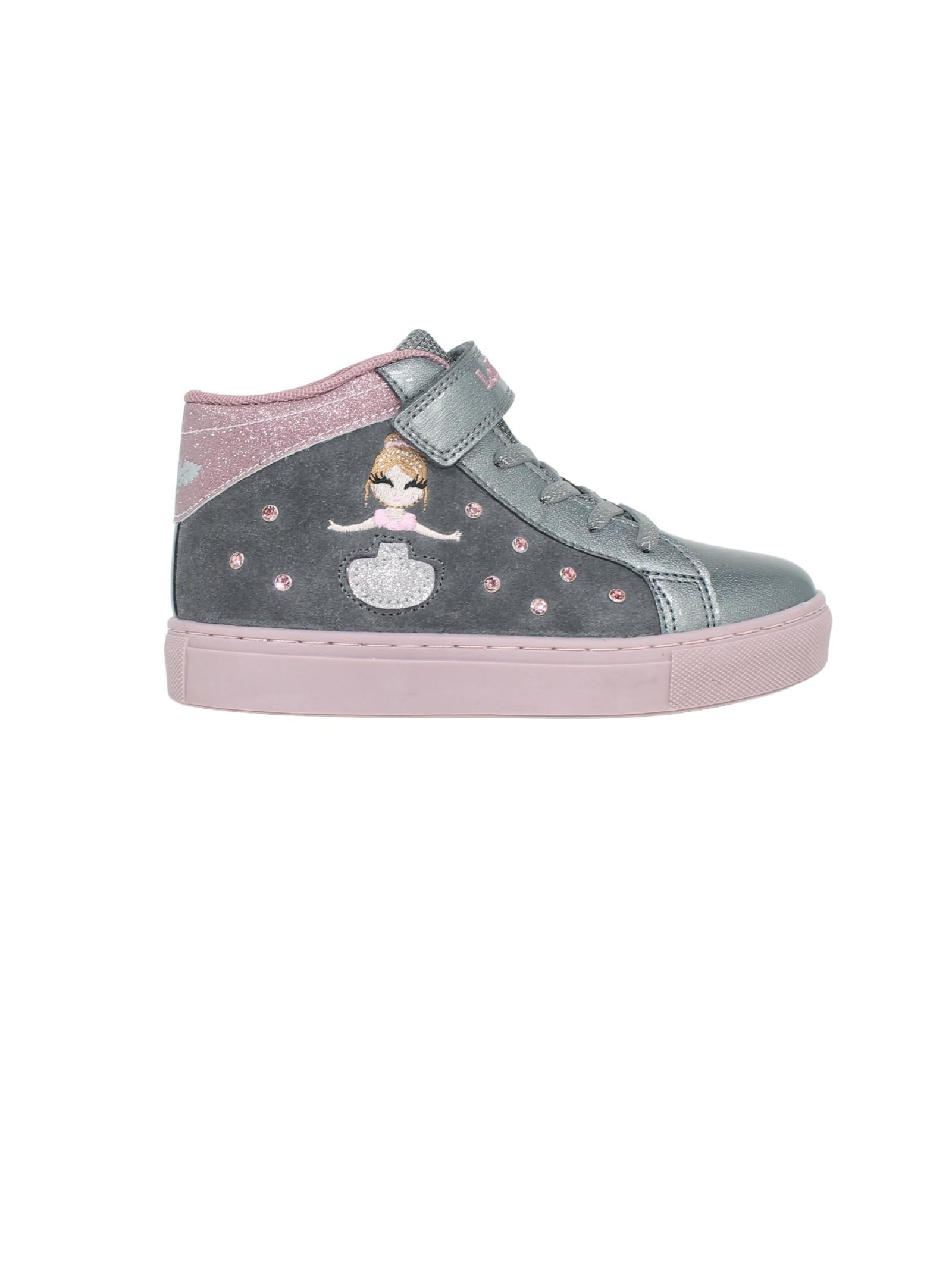 Sneakers Mille Stelle Grigia Bambina LELLI KELLY | Sneakers | LK4836GRIGIO