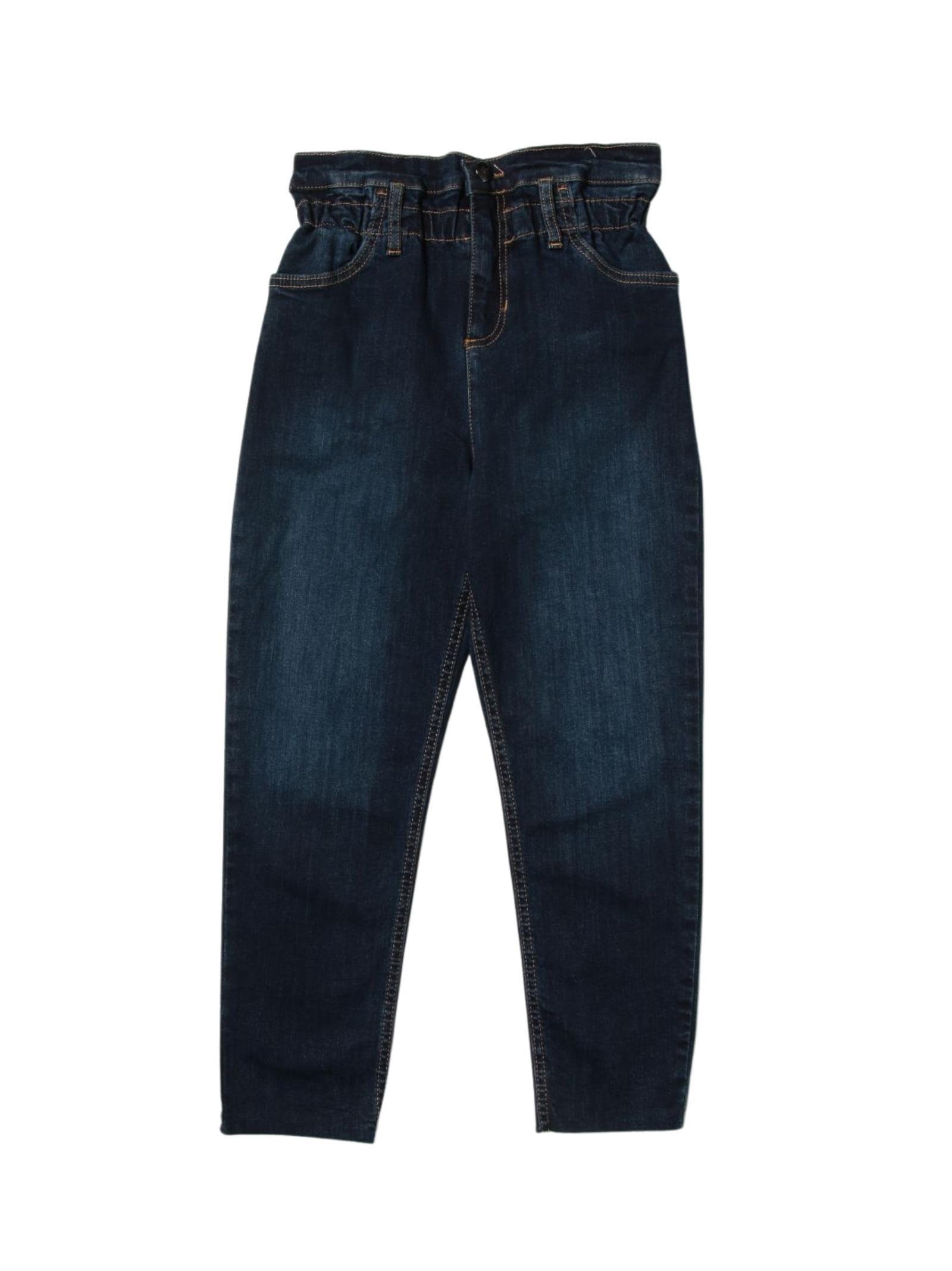 Pantalone Denim Vita Alta Bambina LIU-JO JUNIOR | Pantaloni | GF1084D439177099