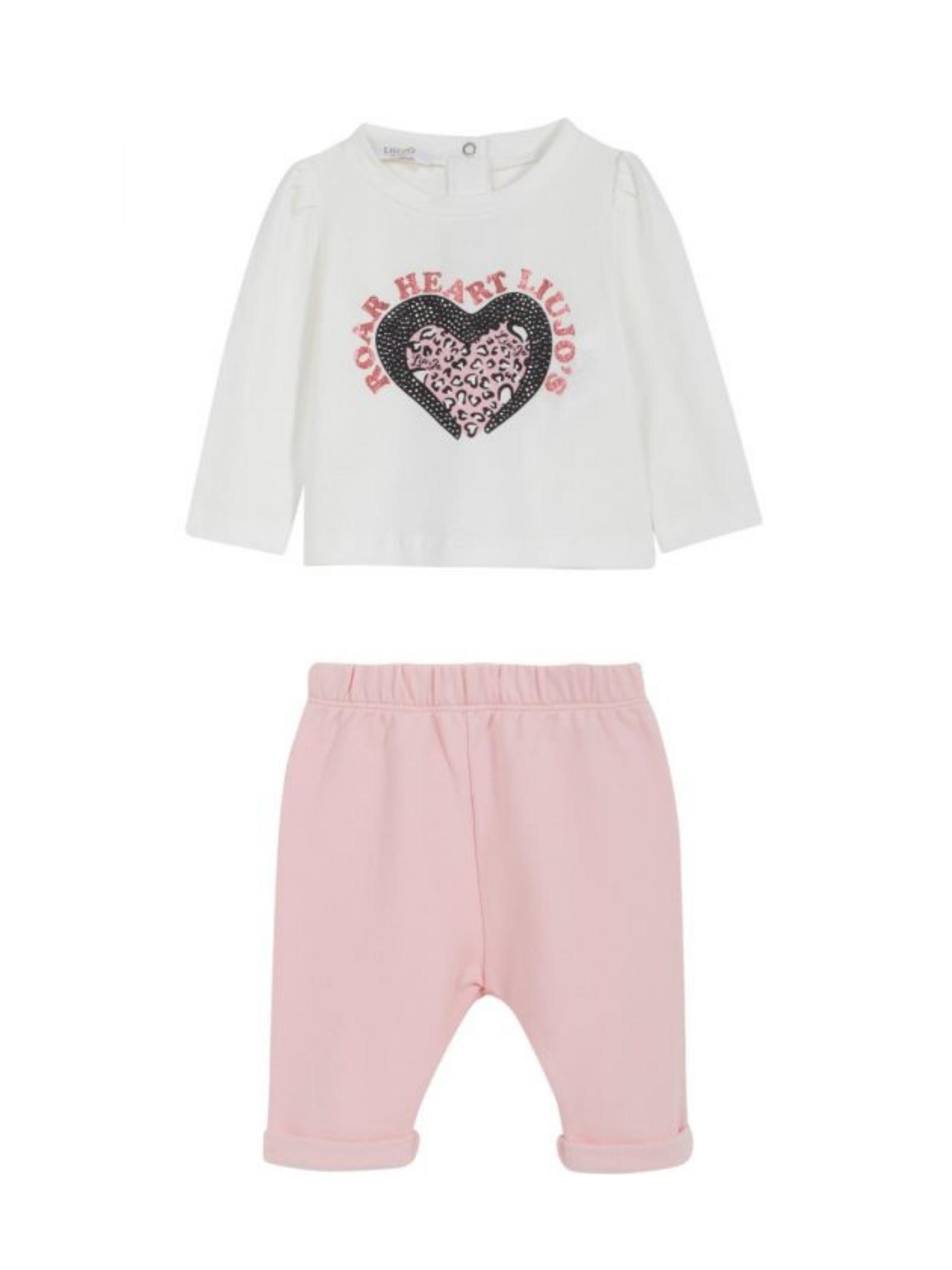 Completo T-shirt e Pantalone Neonata LIU-JO JUNIOR | Completi | KF1069F0090B3950