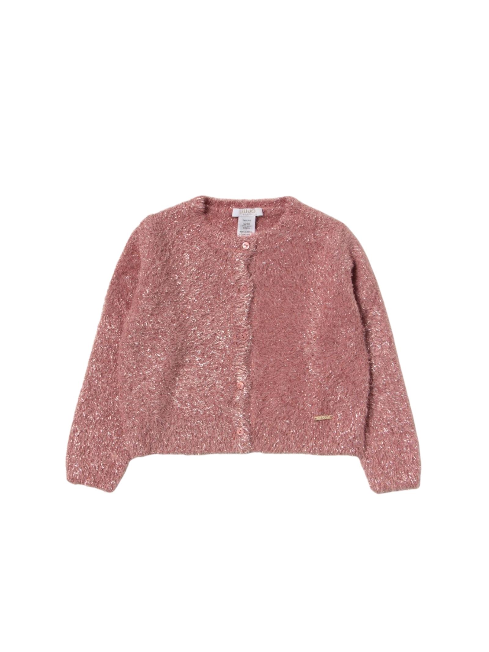 Cardigan Pink Fashion Bambina LIU-JO JUNIOR | Cardigan | KF1134MA91LA4070