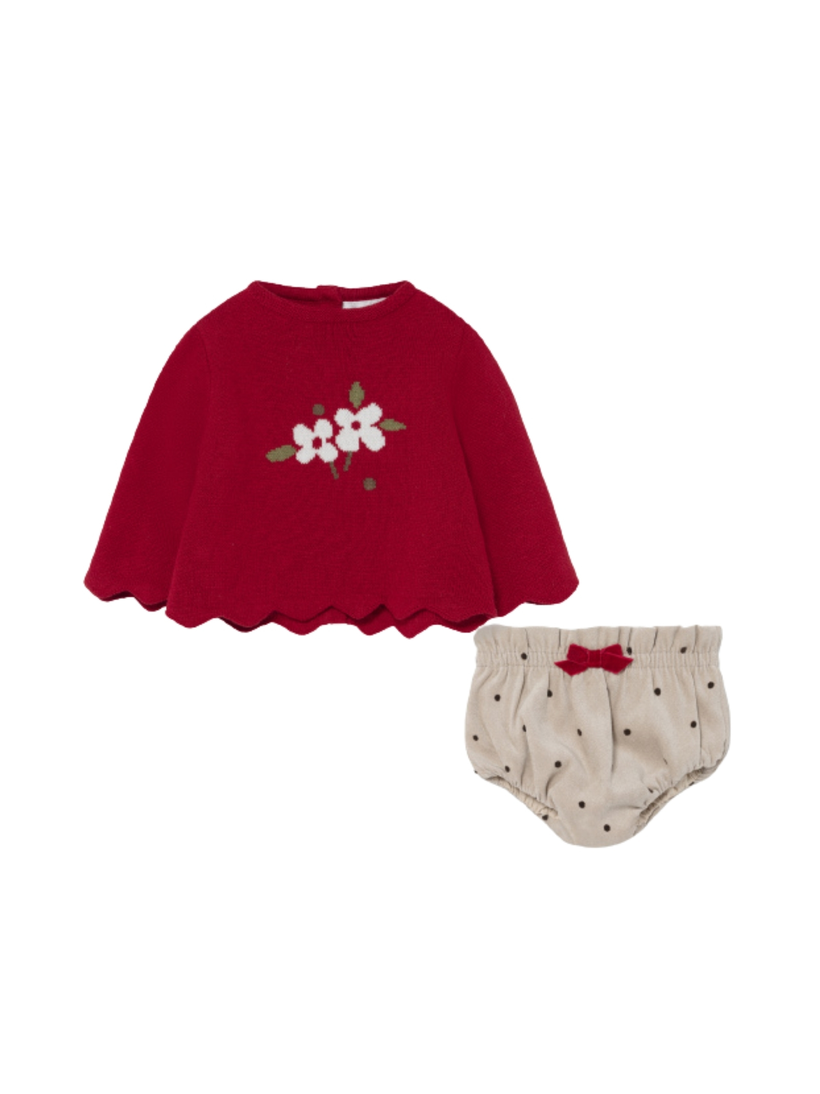 Jersey Coulotte set MAYORAL NEWBORN | Complete | 2224050