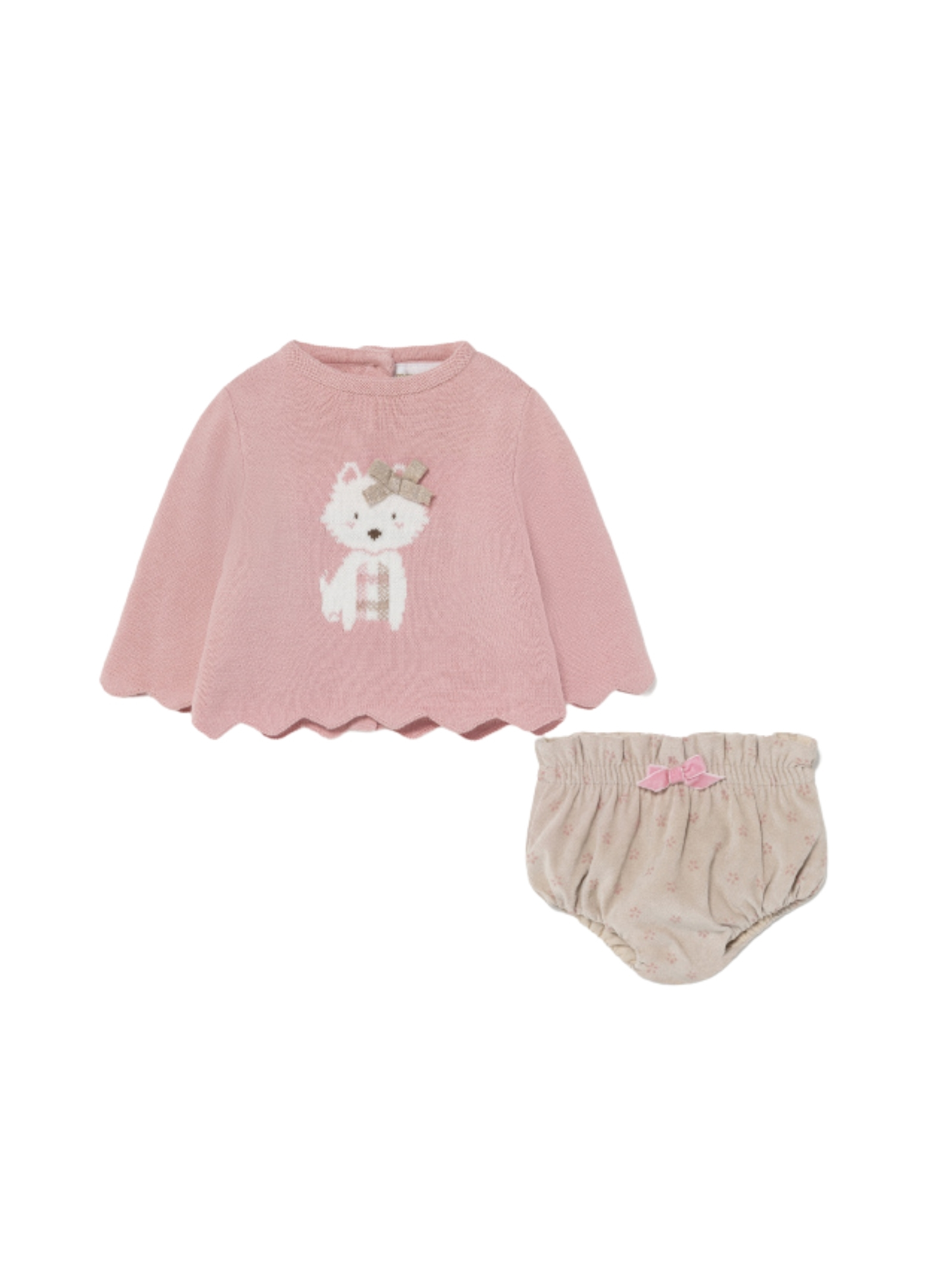 Jersey Coulotte set MAYORAL NEWBORN | Complete | 2224051