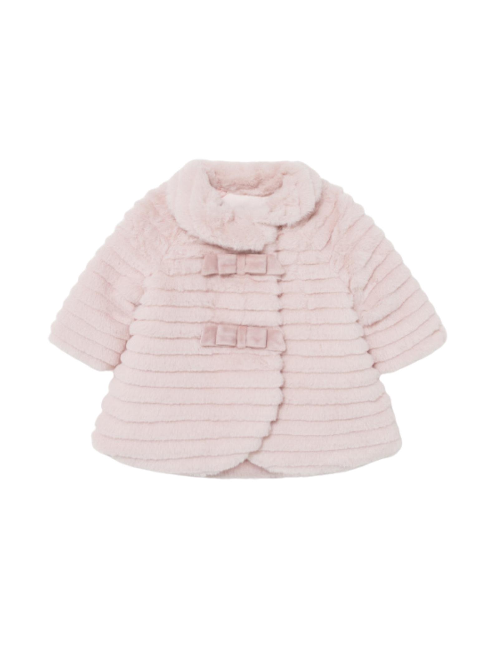 Faux Fur Coat MAYORAL NEWBORN | Coats | 2404075