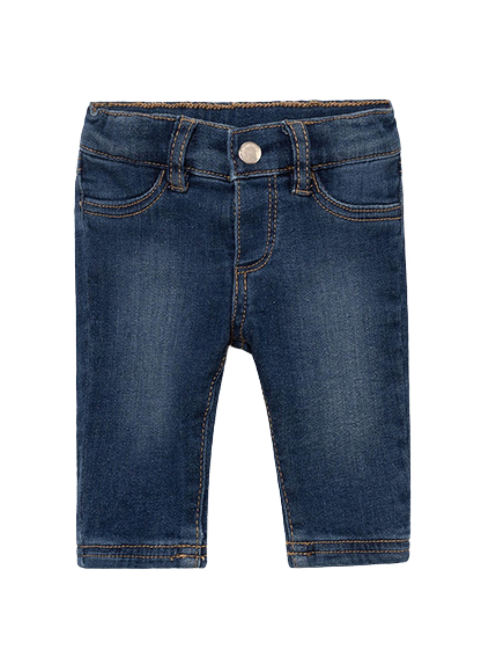 Baby Girl Denim Trousers MAYORAL NEWBORN | Trousers | 2594096