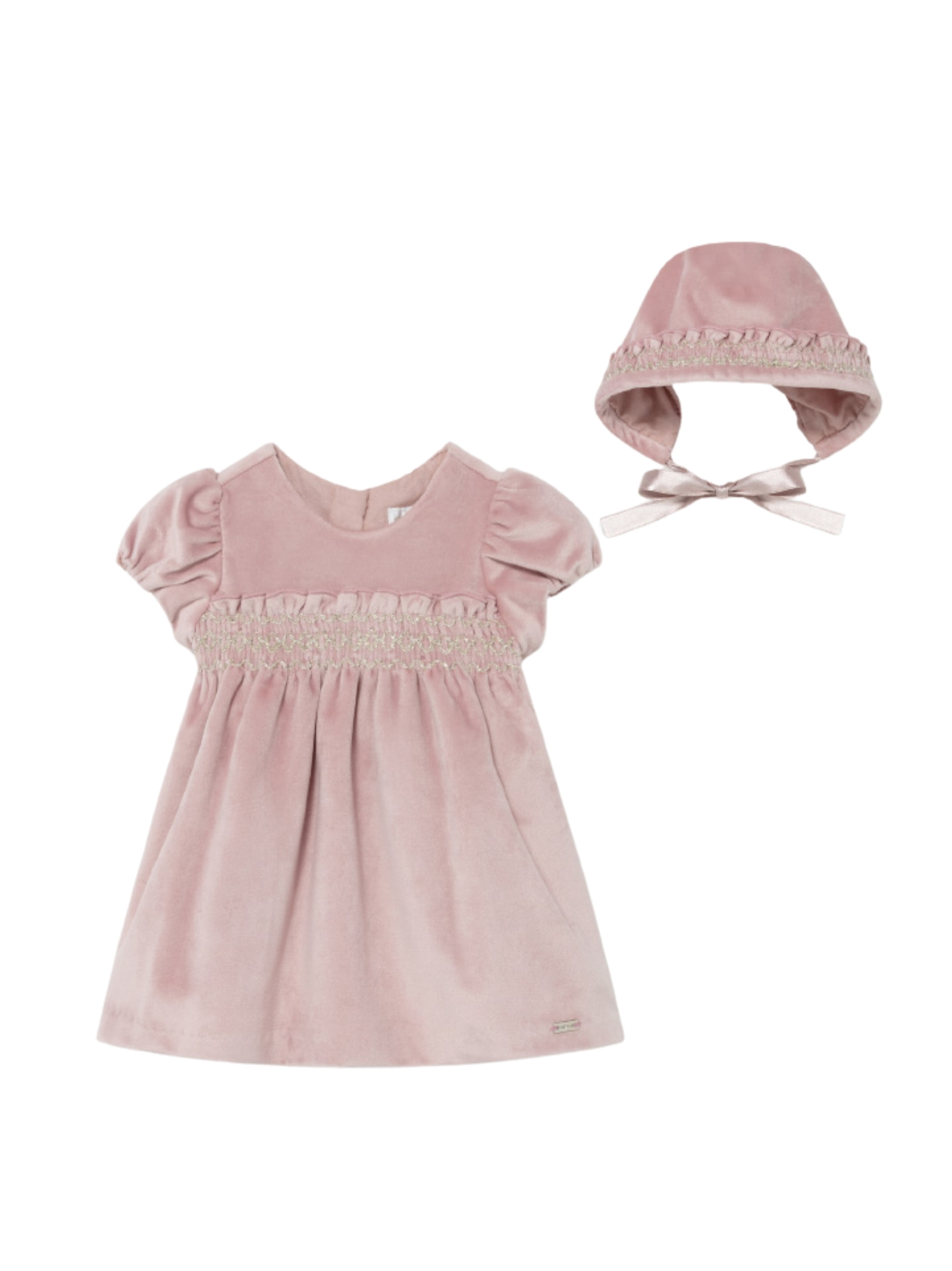 Vestito Elegant Velluto MAYORAL NEWBORN | Vestiti | 2819089