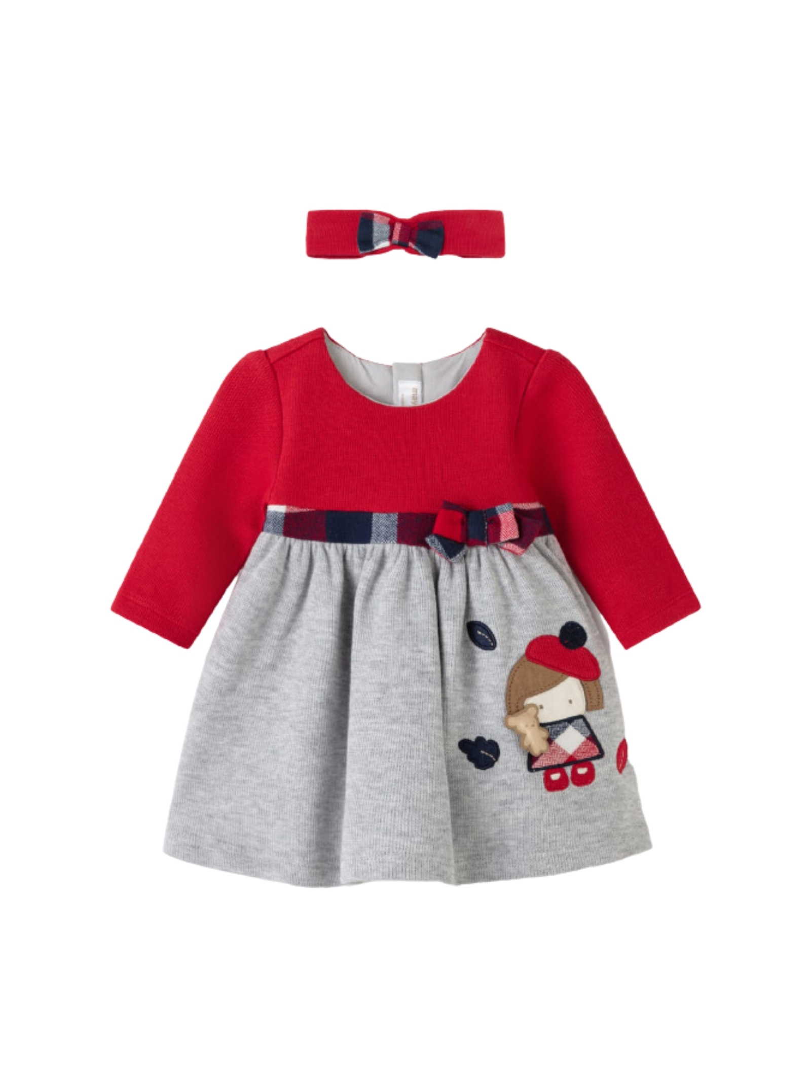 Red Dress With Headband MAYORAL NEWBORN | Clothes | 2894084