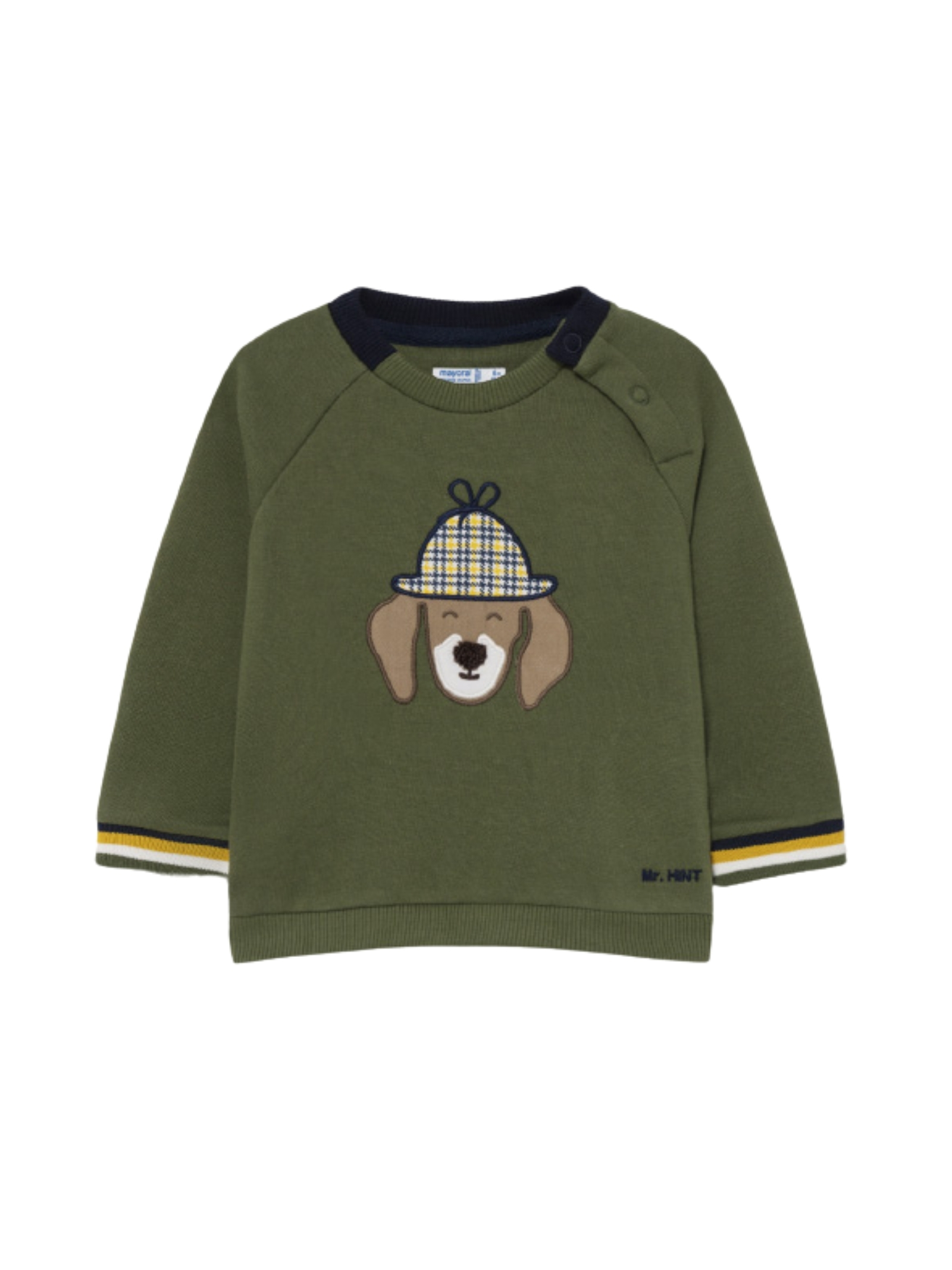 Military Green sweater MAYORAL   Sweaters   2410076