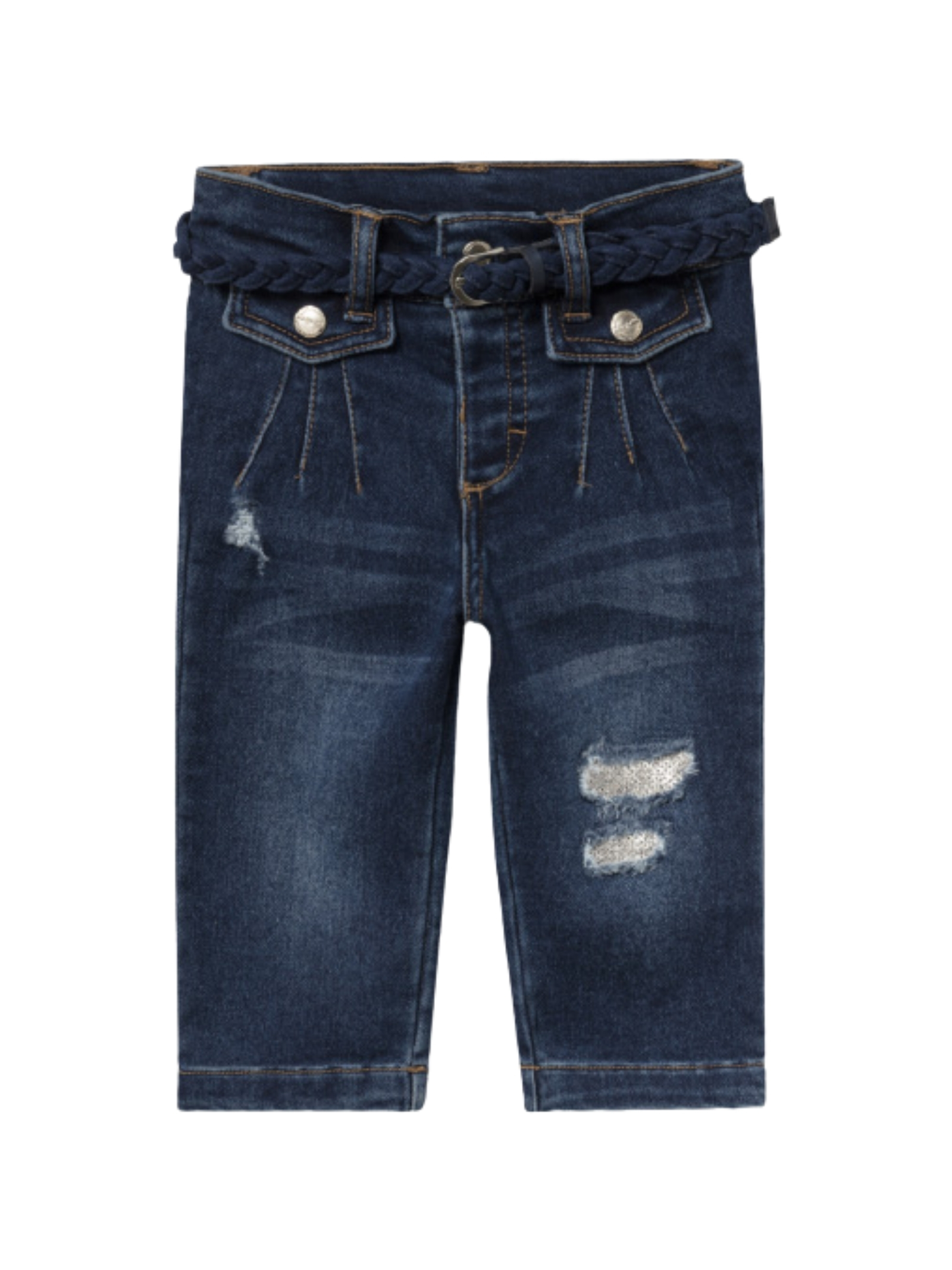Girls Ripped Jeans MAYORAL   Trousers   2542039