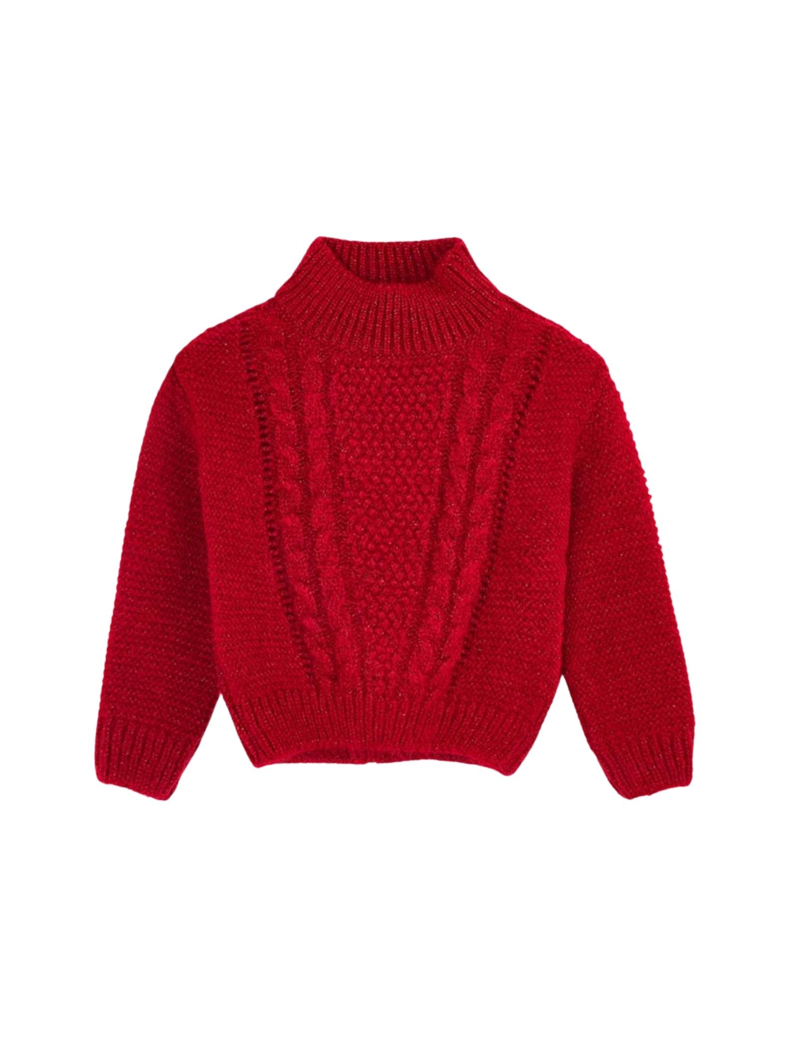 Maglioncino Tricot Red Girl MAYORAL   Maglioni   434533