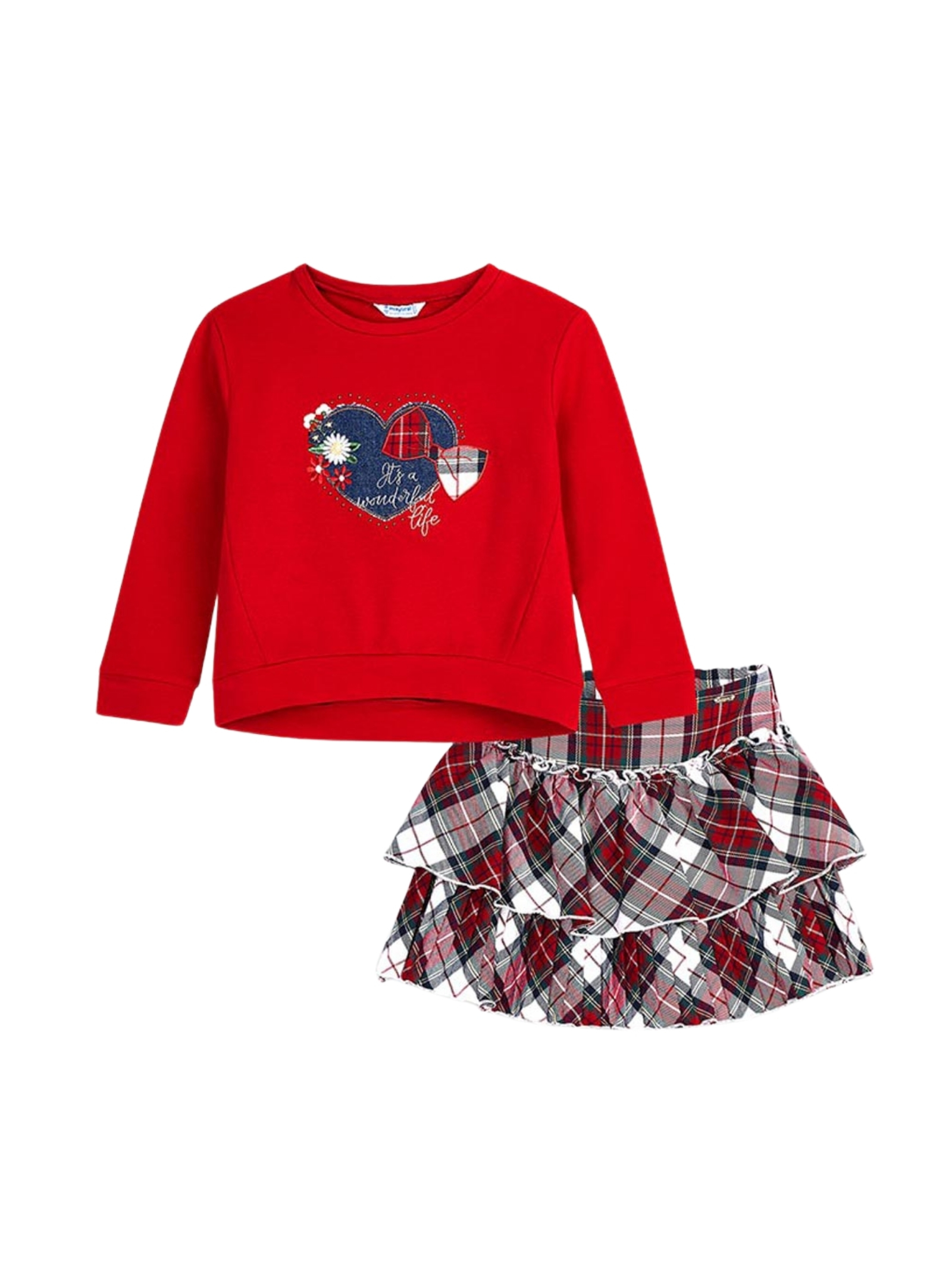 Completo Love Red Bambina MAYORAL   Completi   499265